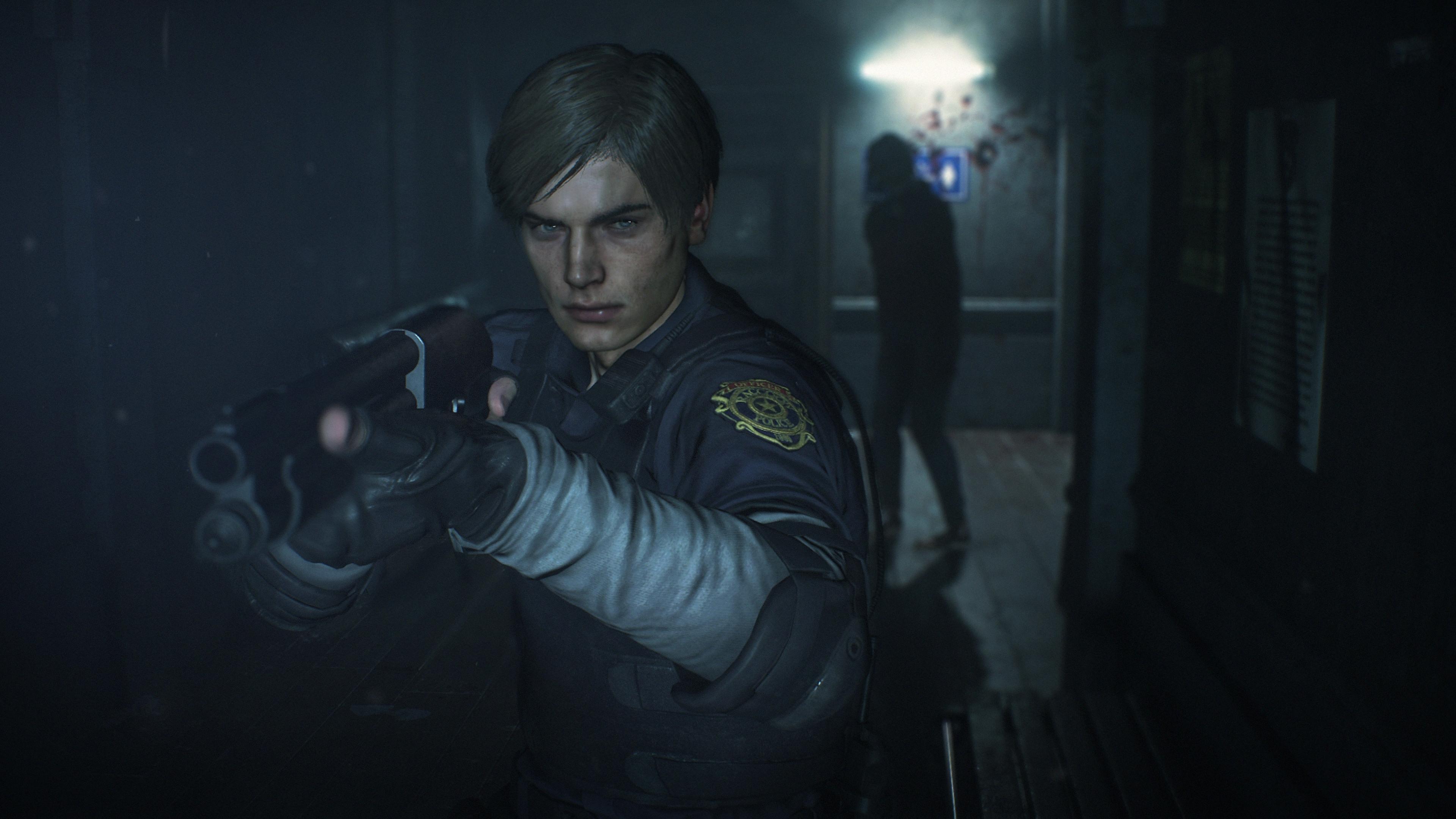 Resident Evil - Istantanea della schermata Leon Kennedy