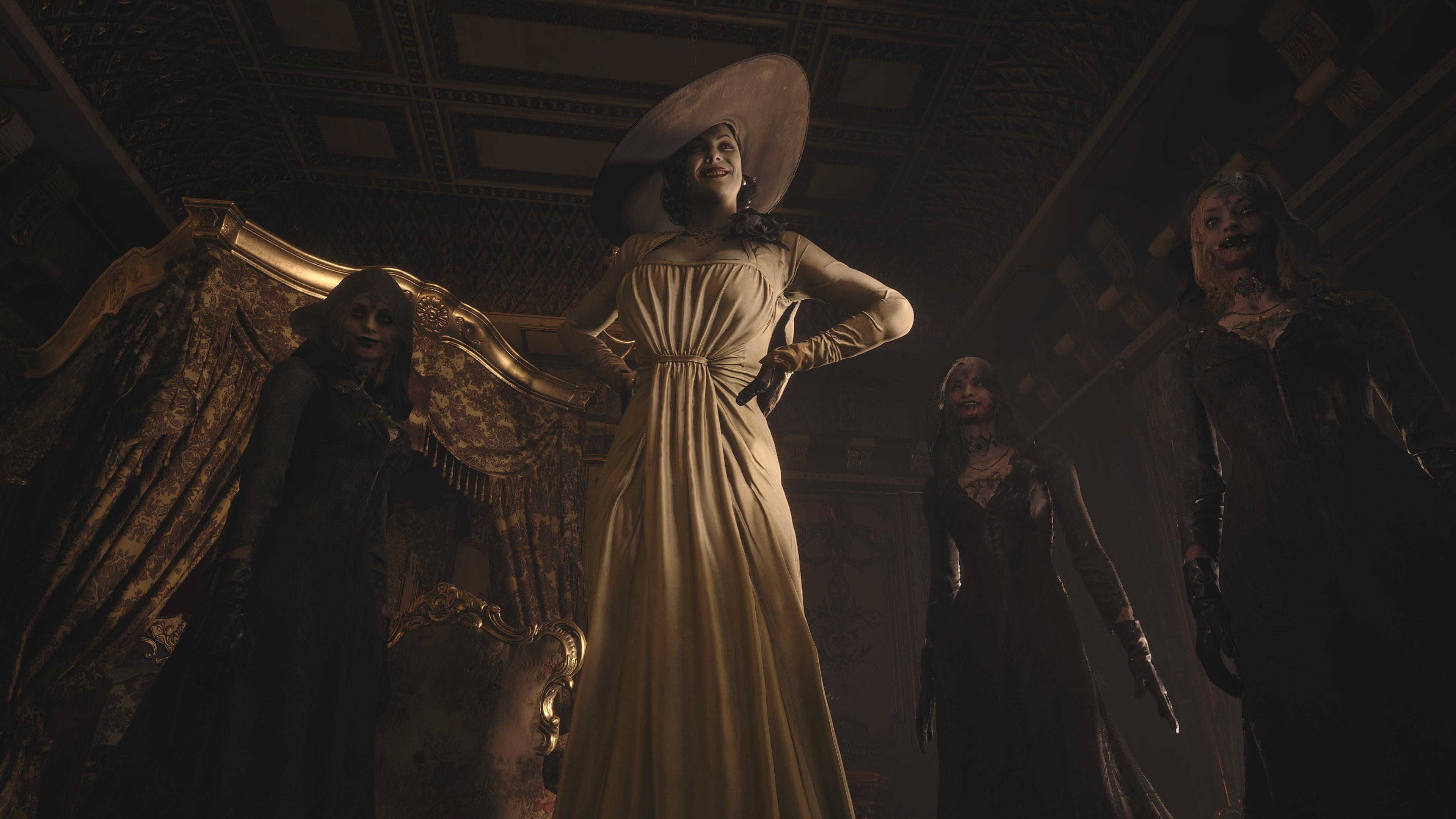 Resident Evil - Istantanea della schermata di Lady Alcina Dimitrescu