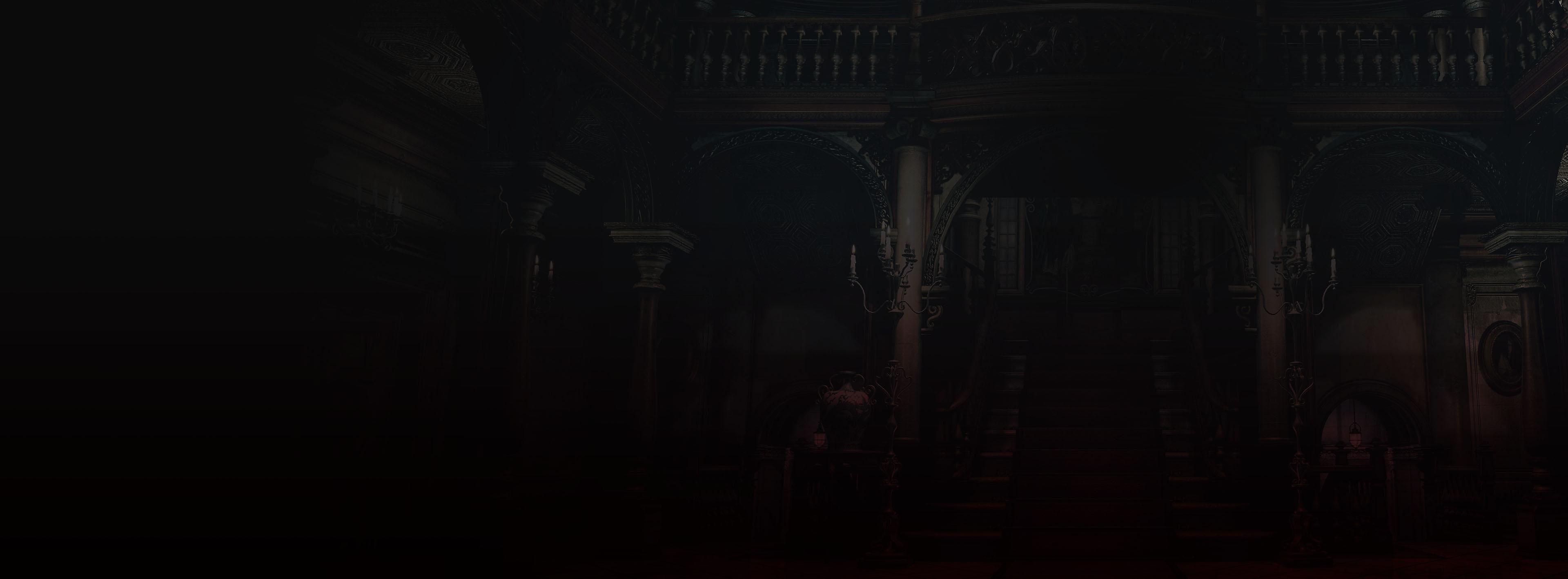 Resident Evil - fondo de mansión