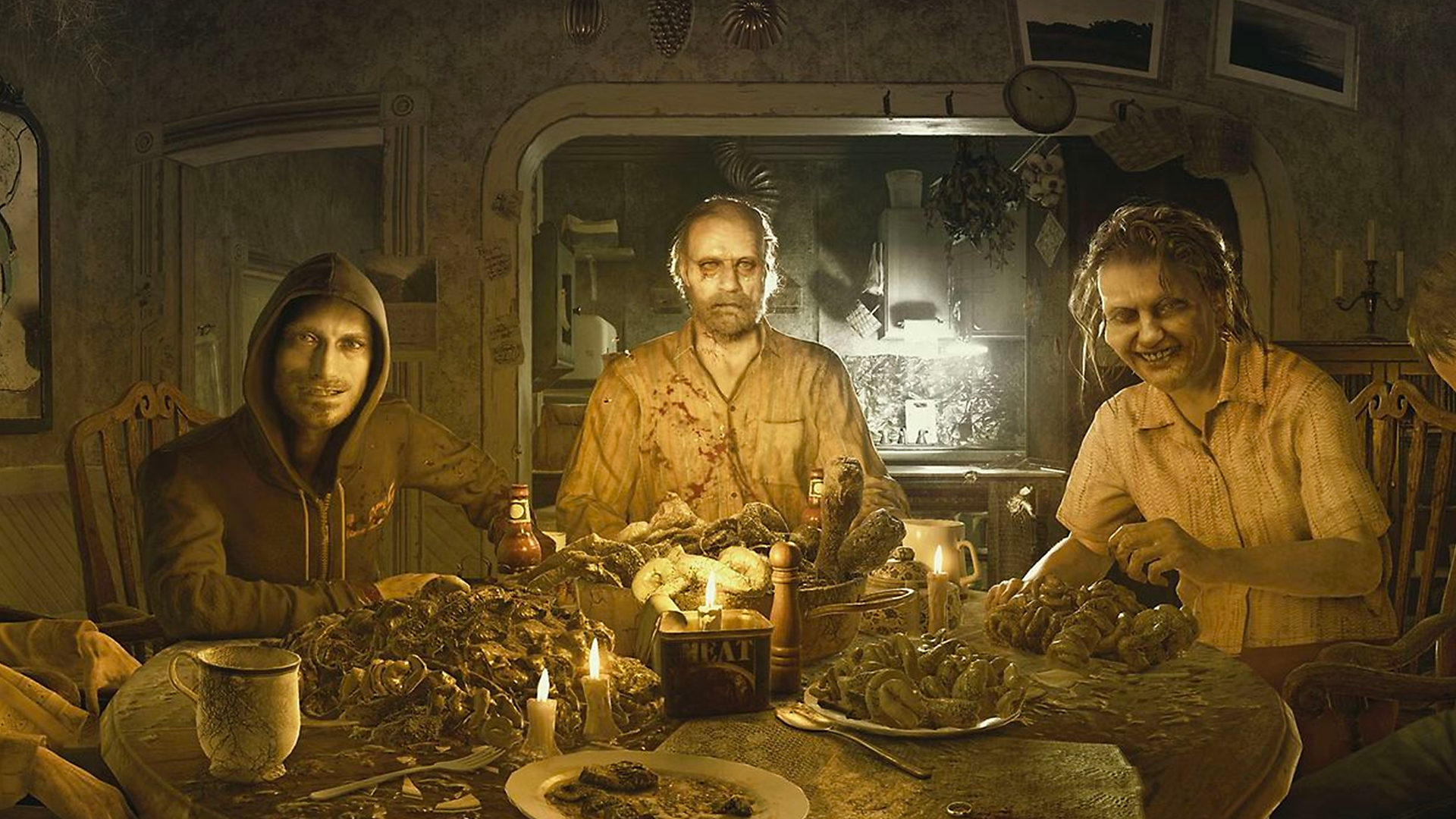 Resident Evil - Istantanea della schermata di Jack Baker