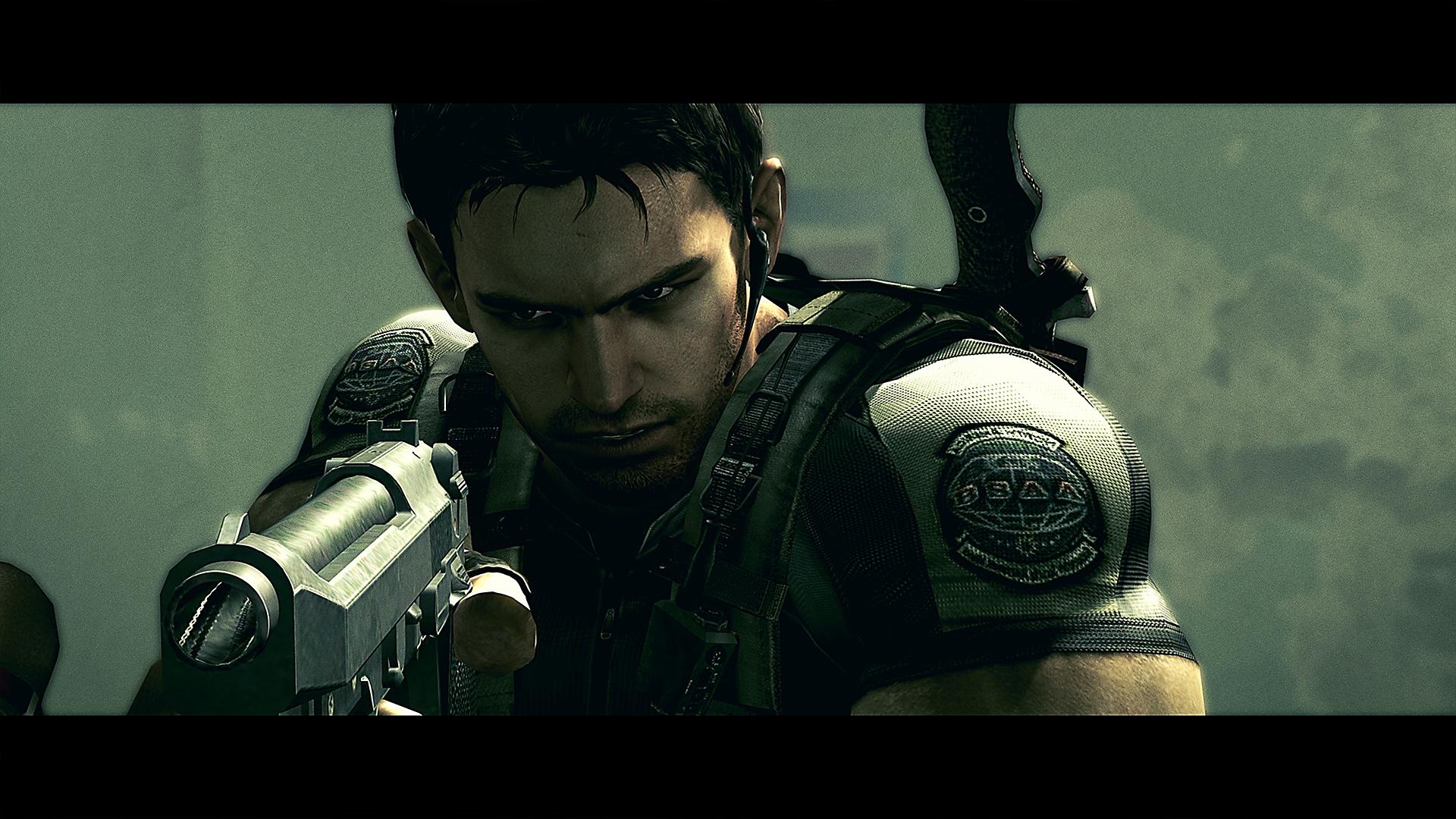 Resident Evil – Istantanea della schermata di Chris Redfield