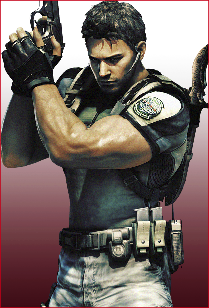 Resident Evil – Immagine di Chris Redfield
