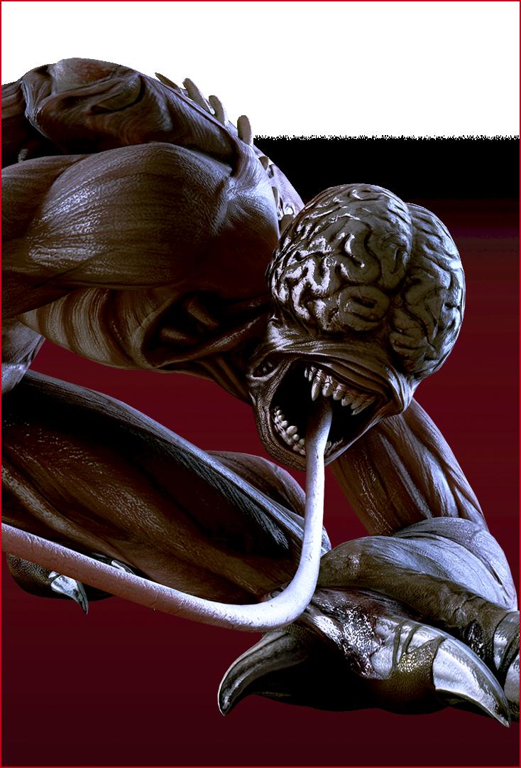 Resident Evil – Immagine di Licker