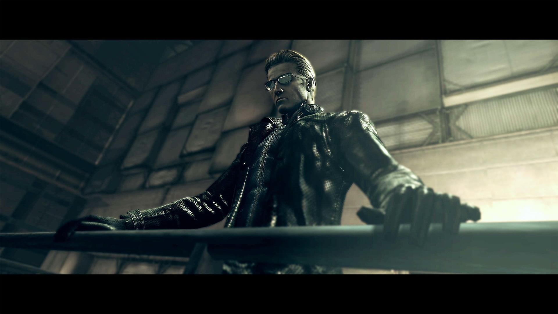 Resident Evil – Istantanea della schermata di Albert Wesker