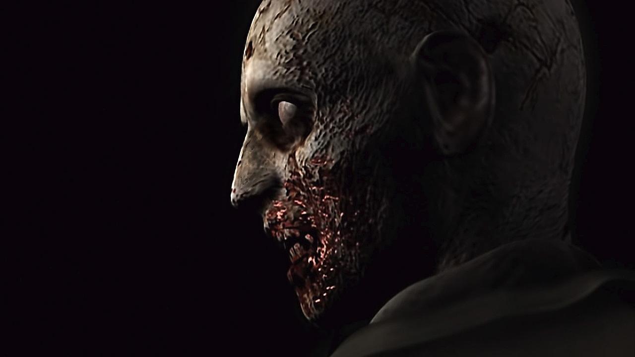 Resident Evil - Istantanea della schermata di zombi