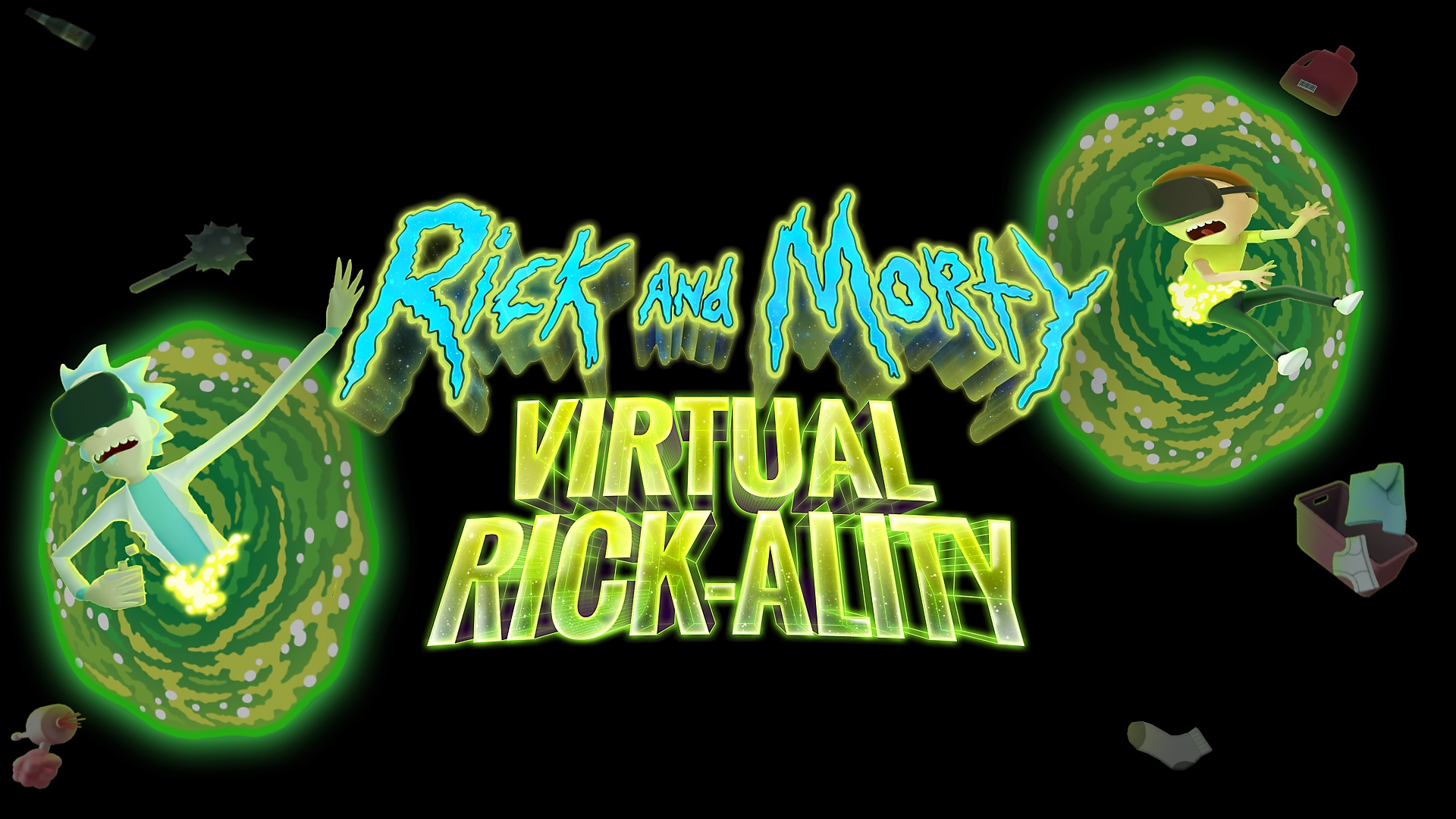 Rick and Morty: Virtual Rick-ality – PSX 2017: Announce Trailer | PS VR