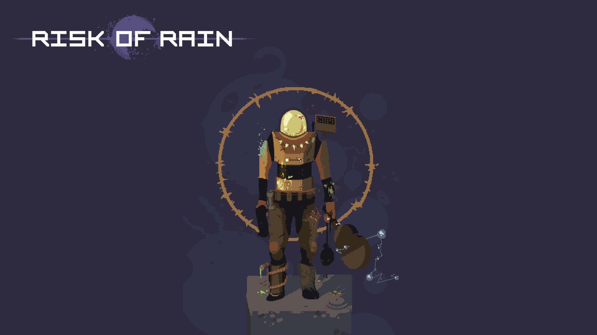 Risk of Rain, glavna ilustracija