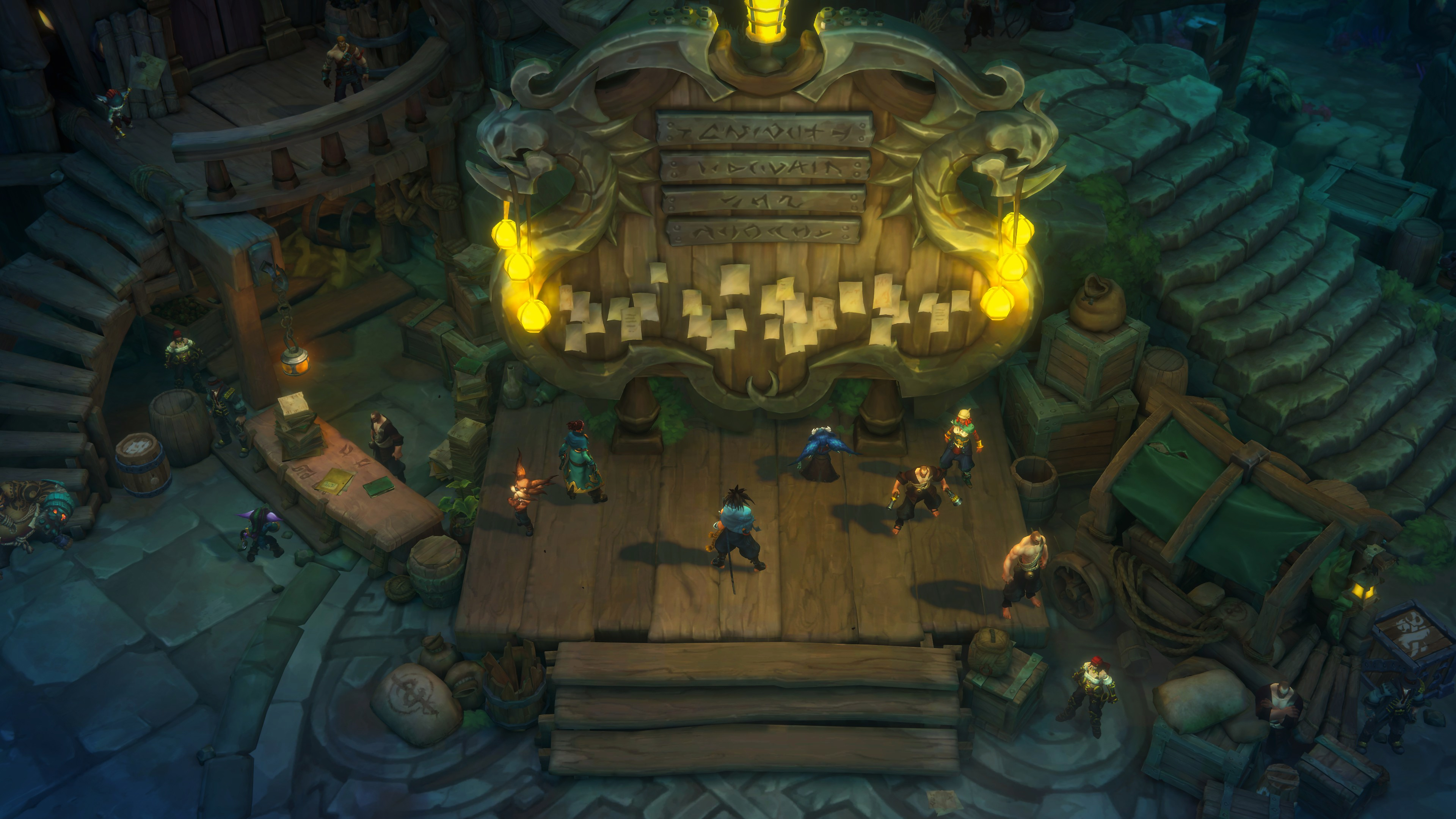Ruined King: A League of Legends Story – Heldengalerie-Screenshot 3