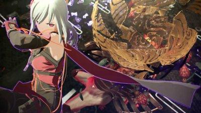 Scarlet Nexus - captura de pantalla de la jugabilidad