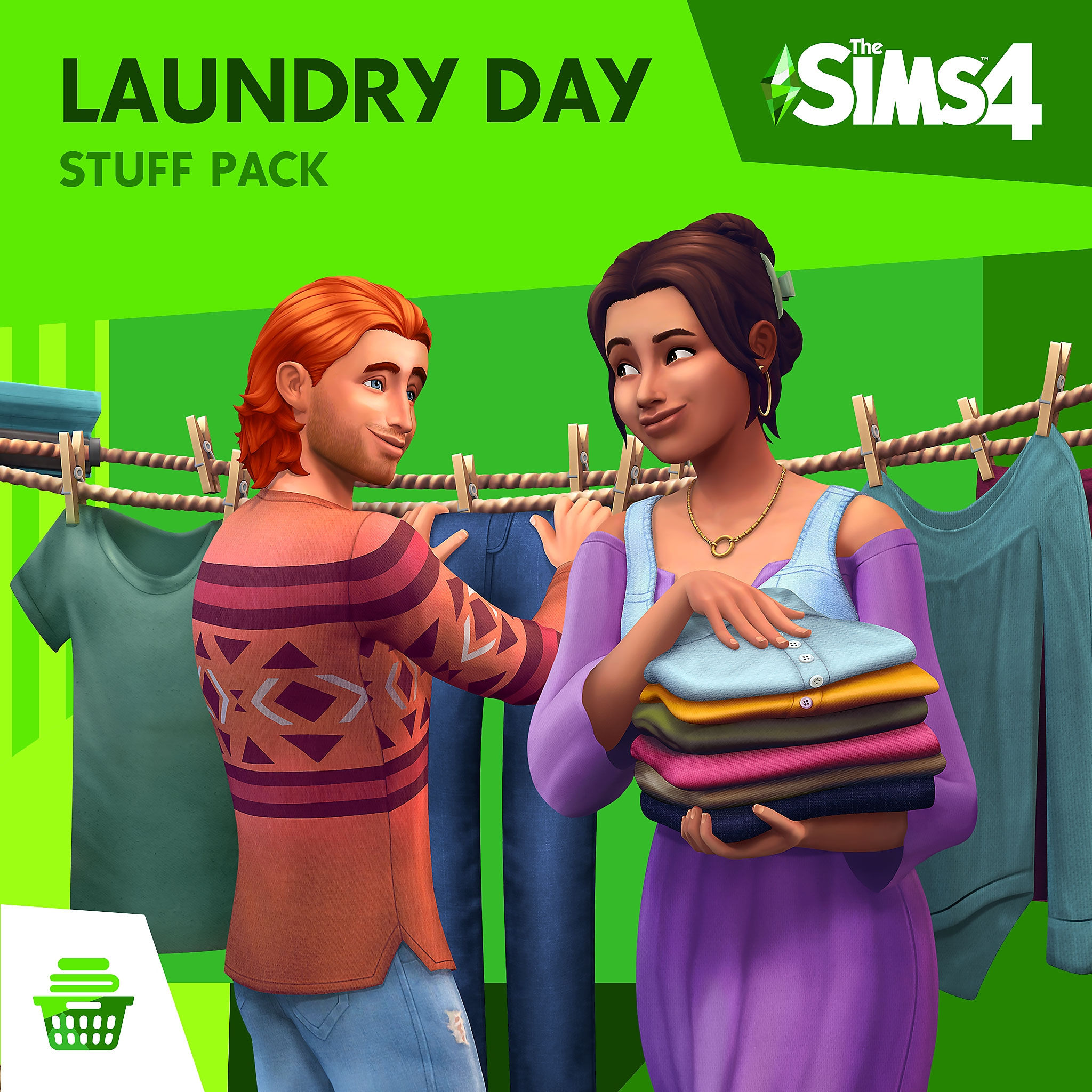 Laundry Day Stuff Pack