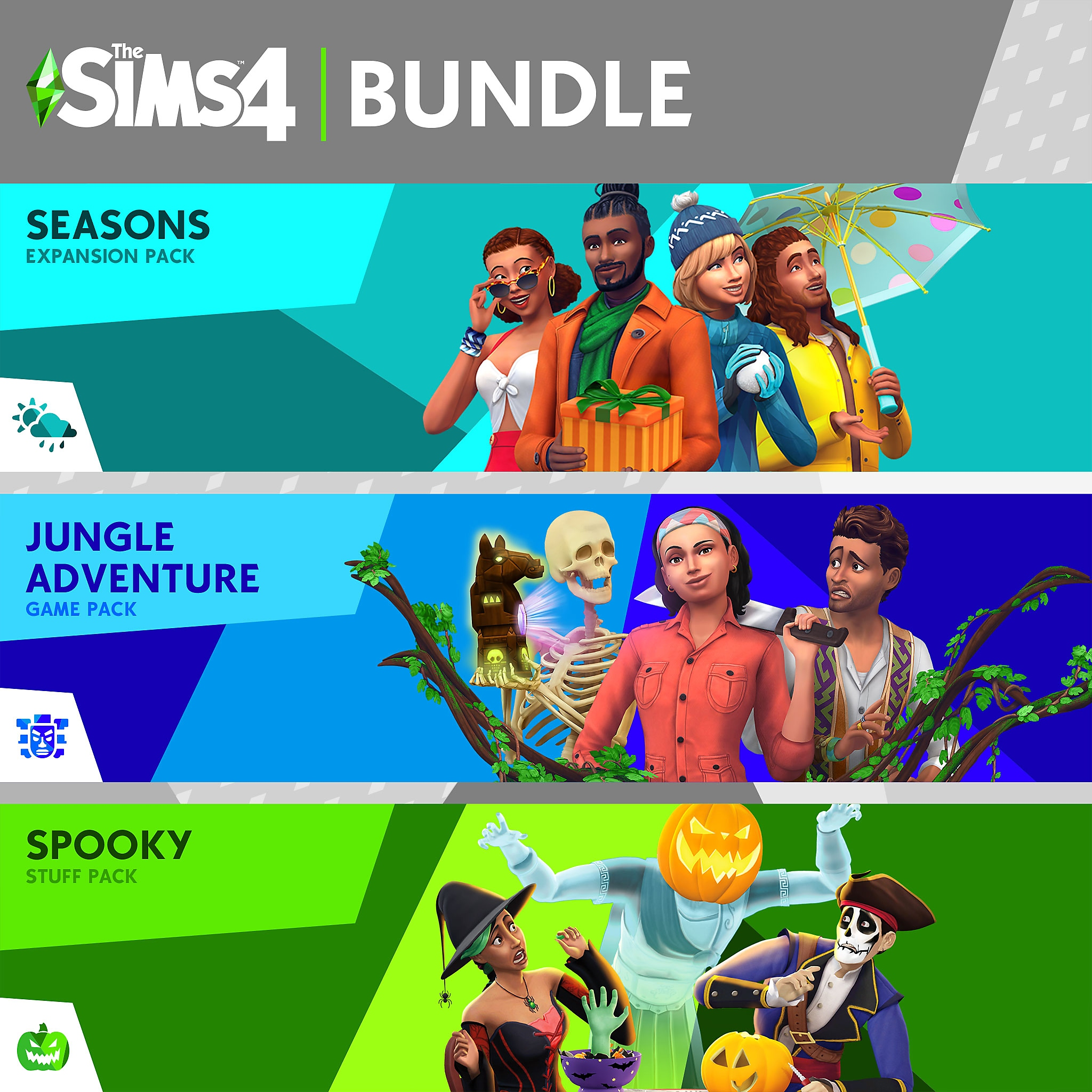 Seasons/Jungle/Spooky Bundle