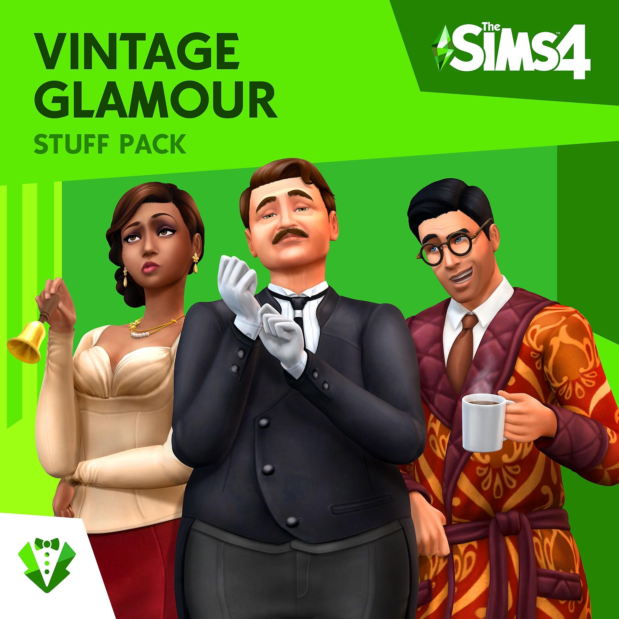Vintage Glamour Stuff Pack