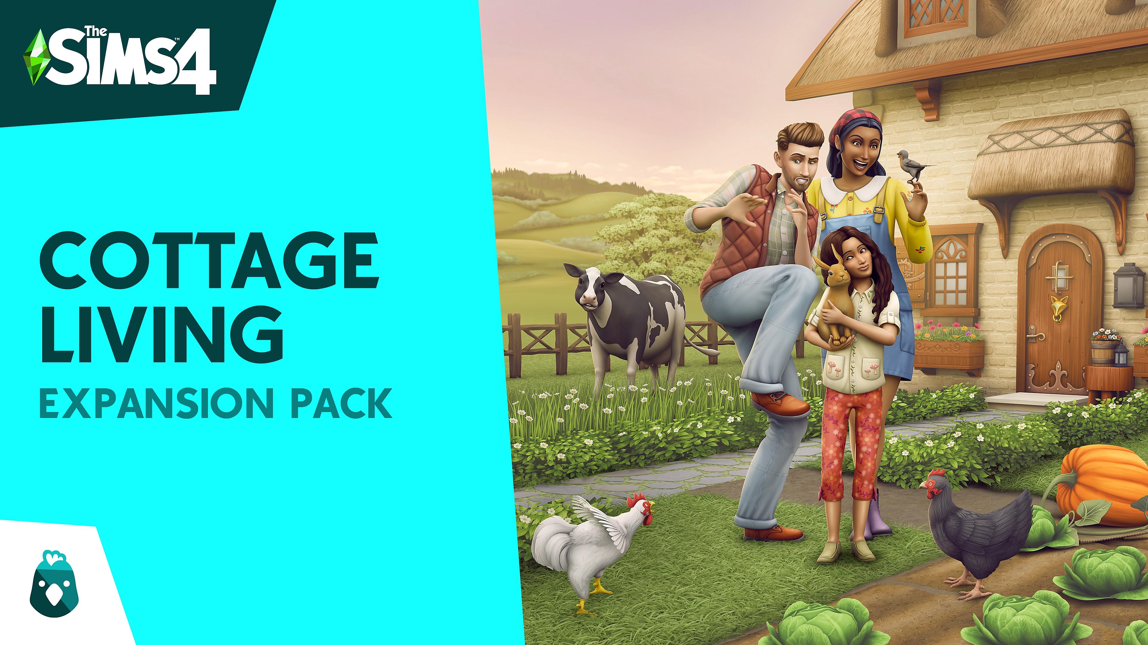 The Sims 4 Maalaiselämää Expansion Pack -kuvitus