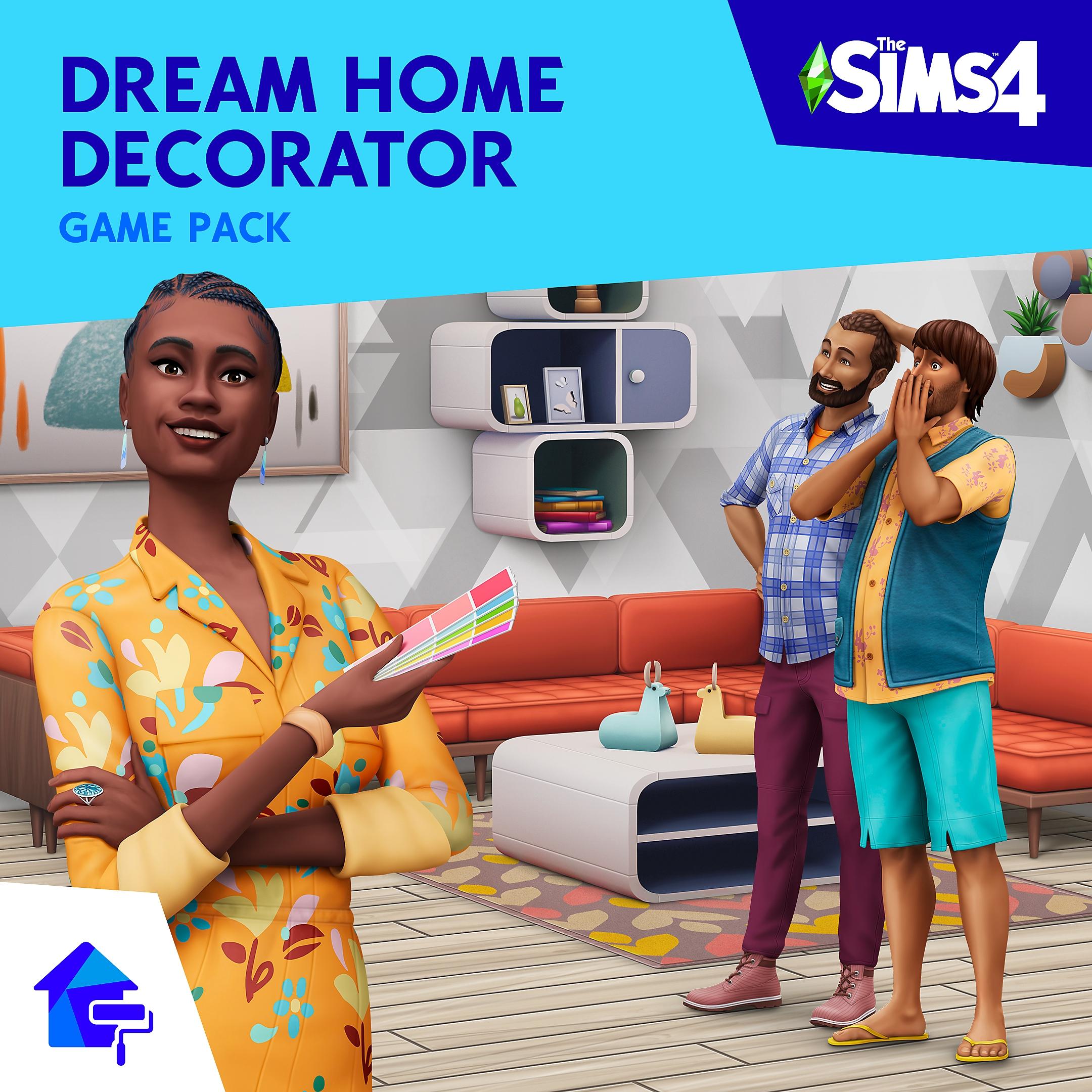 Grafika The Sims 4 Wystrój marzeń – Pakiet rozgrywki