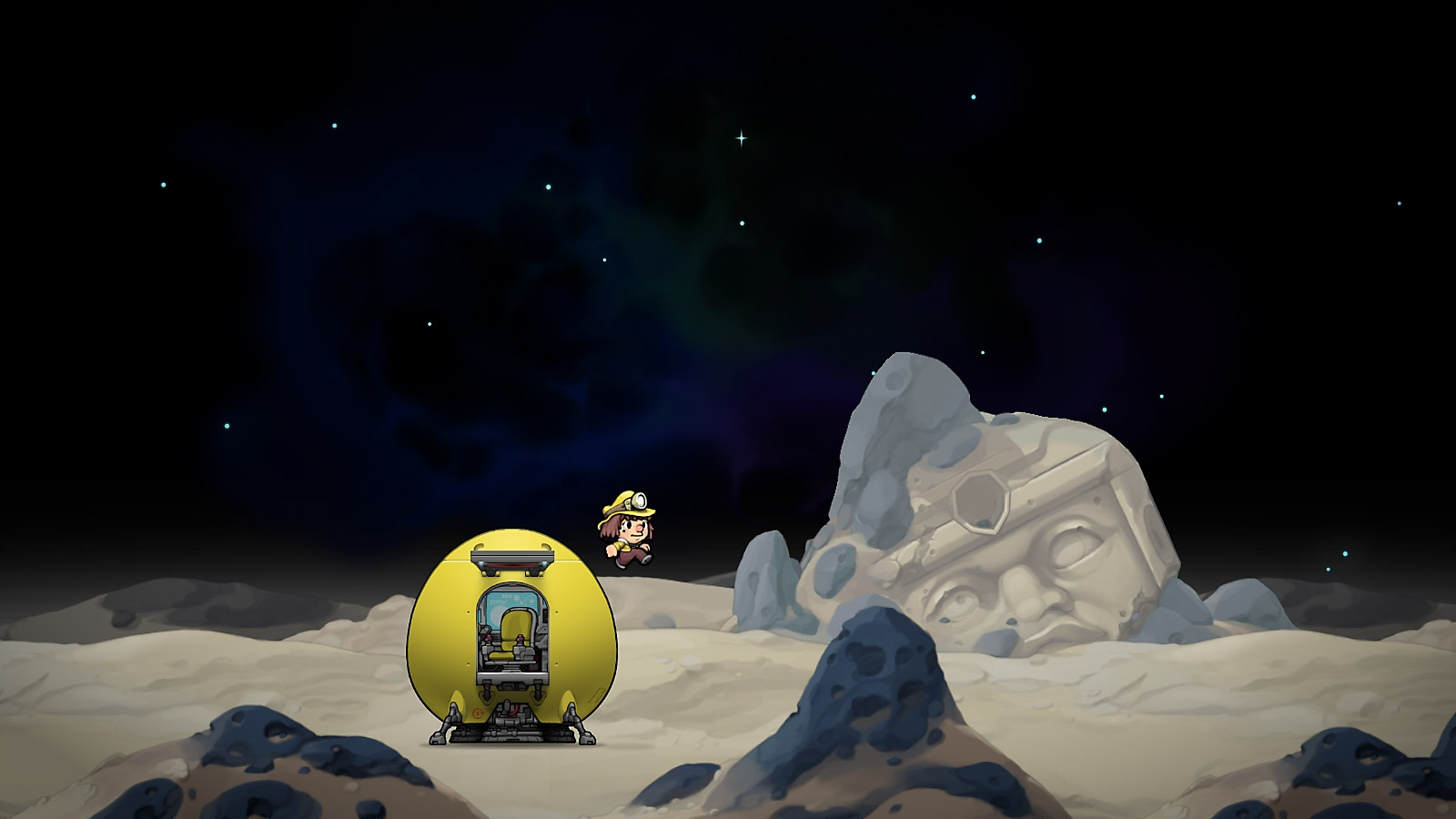 Spelunky 2 - Screenshot - Space