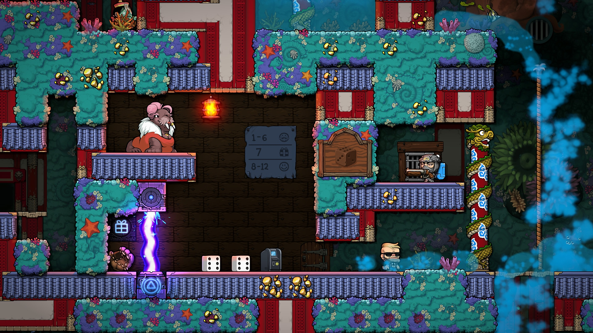 Spelunky 2 - Screenshot - Explore ever-changing stages