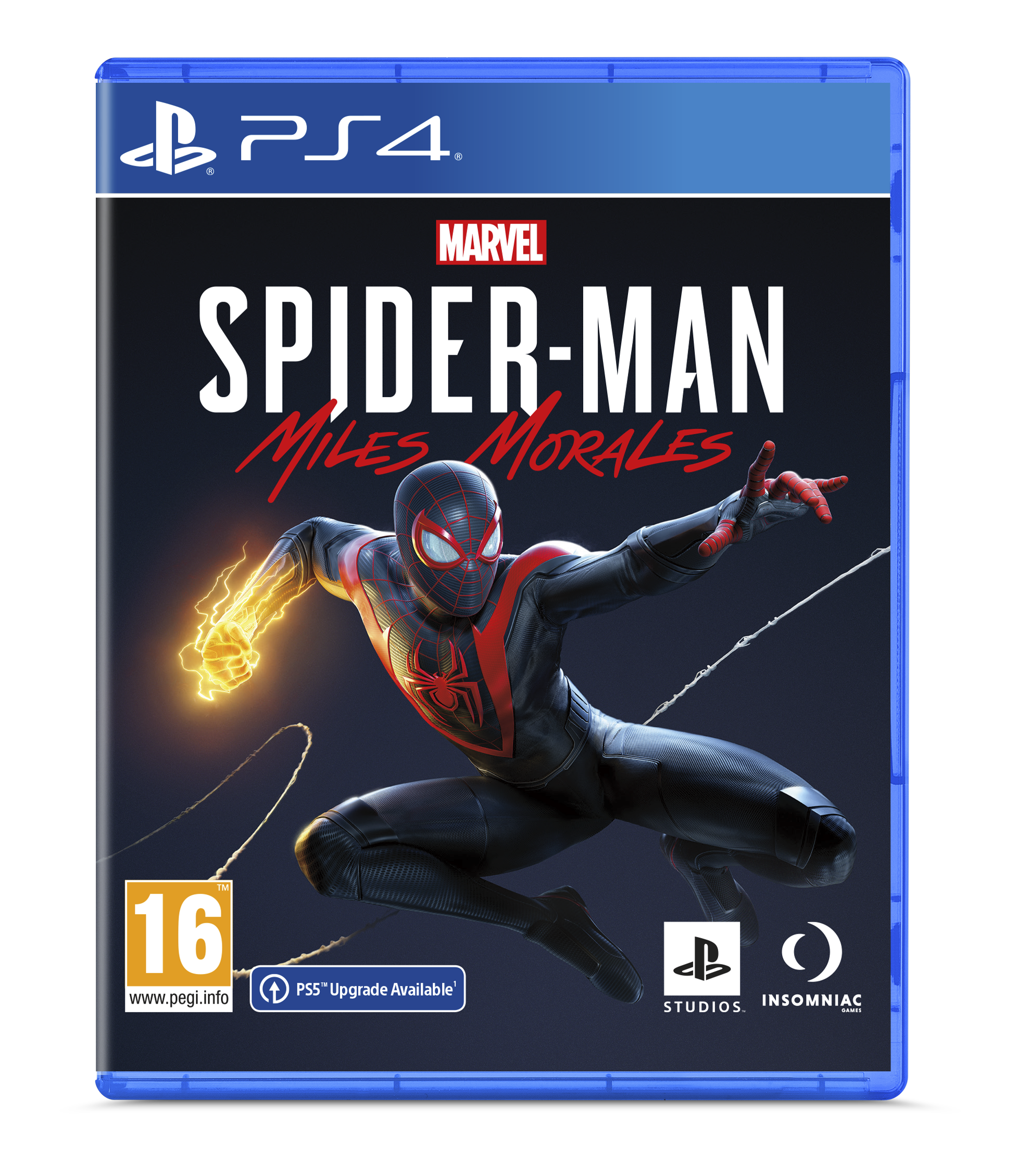 marvel's spider-man miles morales ps4 physical