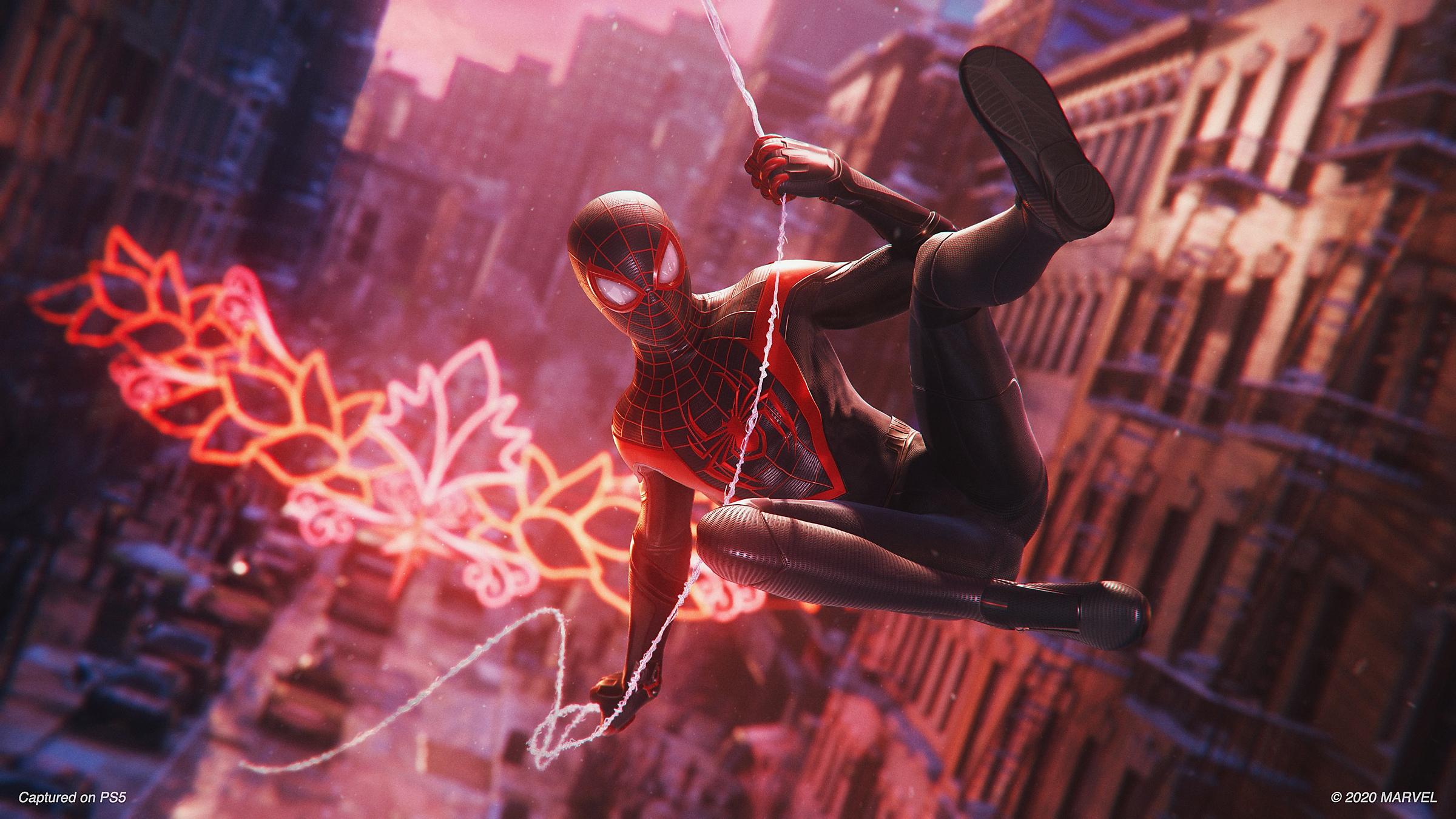Аренда Человек-Паук Майлз Моралес на PlayStation 4