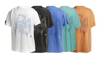 スプレーアート ユーズド加工 プリントTシャツ / PlayStation画像2