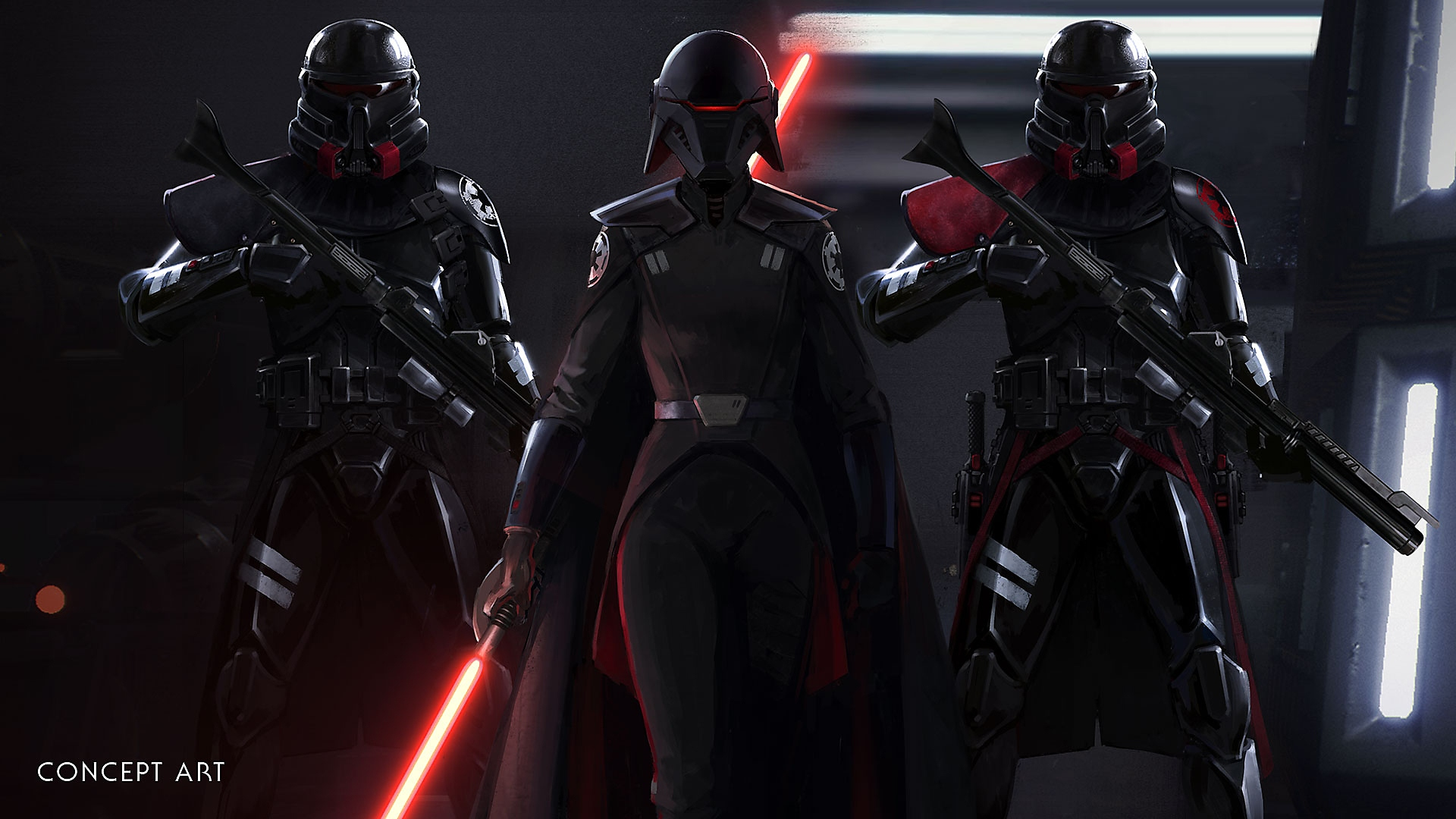 STAR WARS Jedi Fallen Order - Key Features concept art