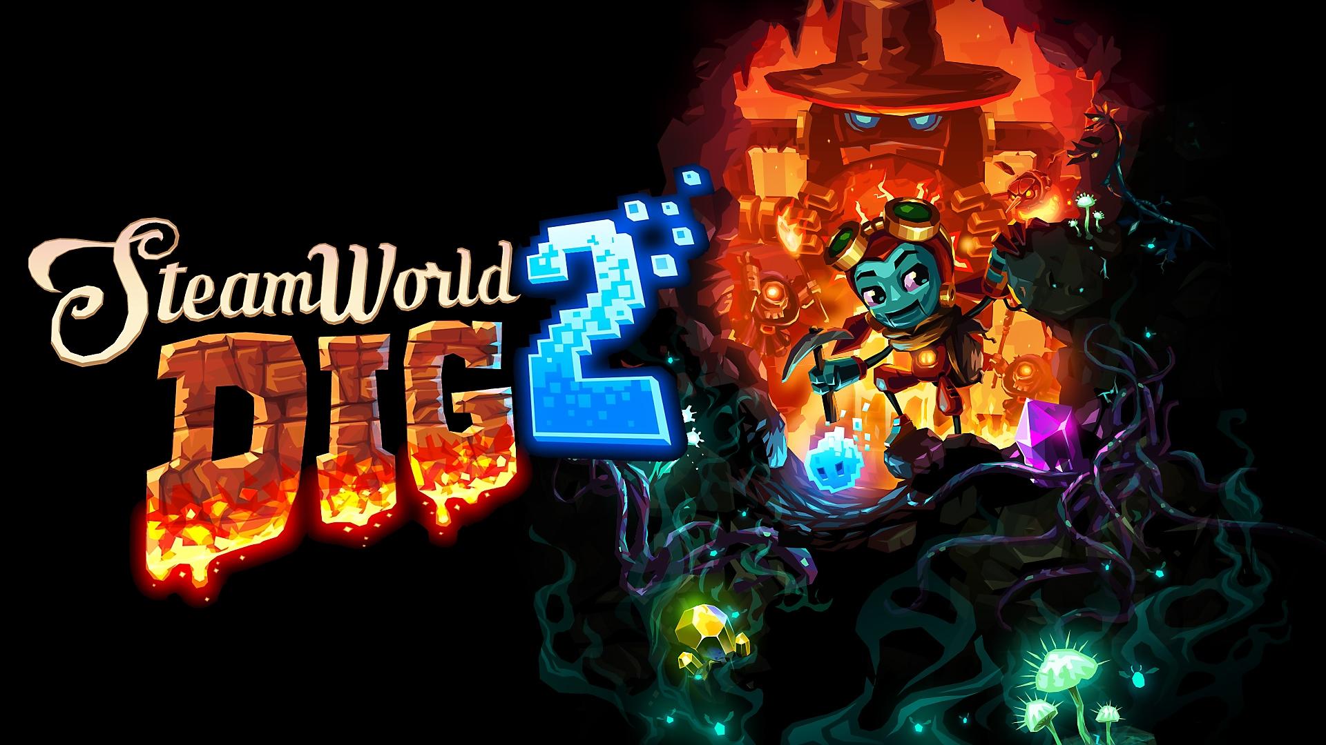Steamworld Dig 2 - العرض التشويقي لإطلاق اللعبة