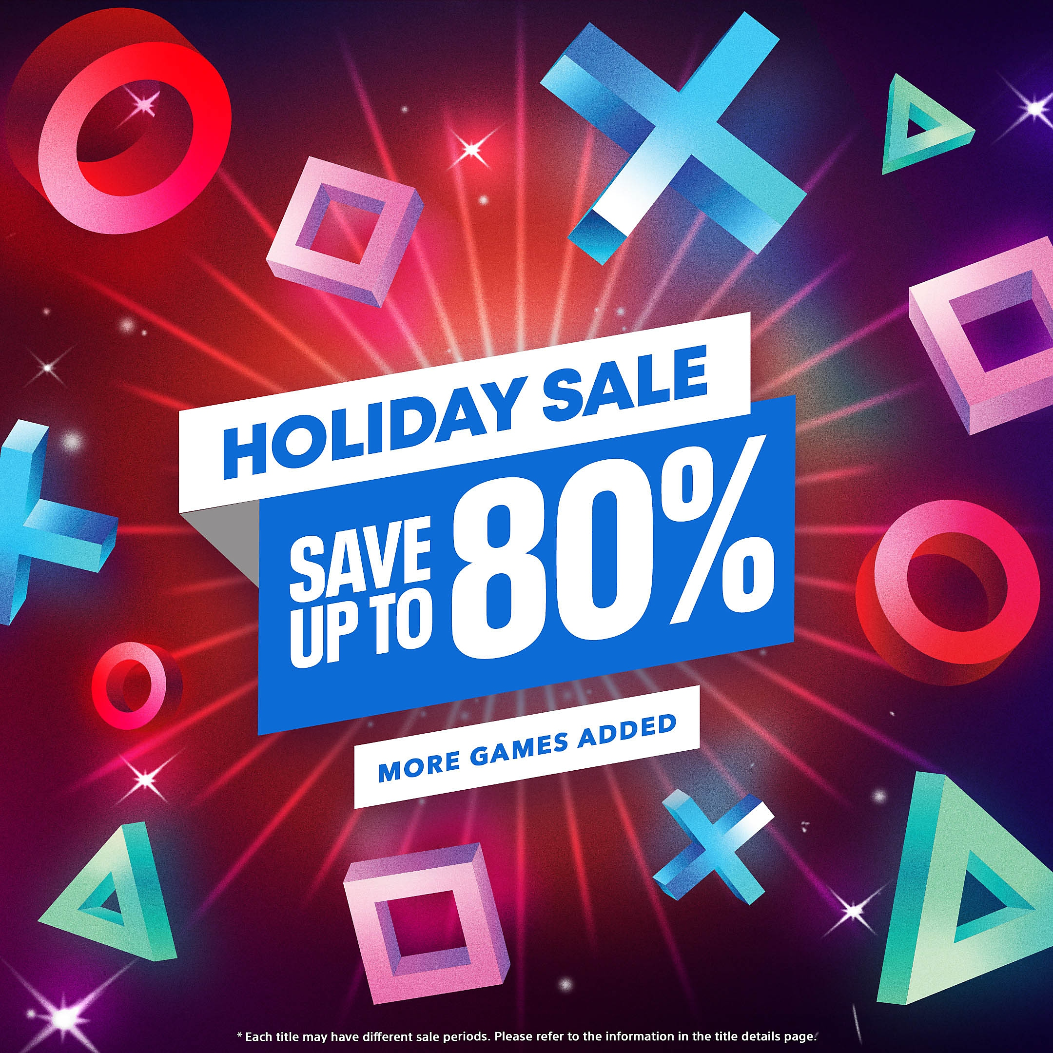PlayStation Store – Holiday Sale