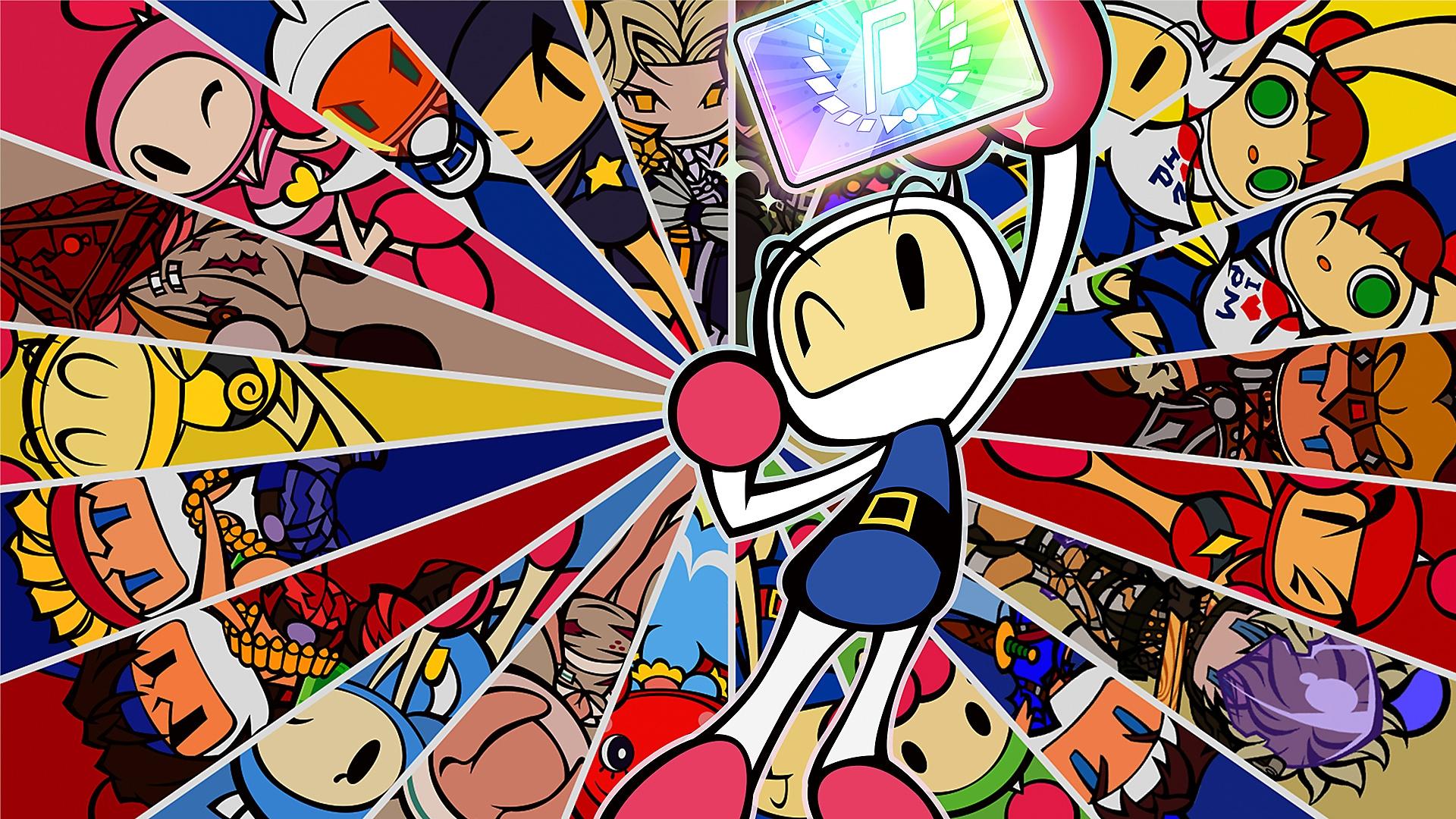 Super Bomberman R Online key art