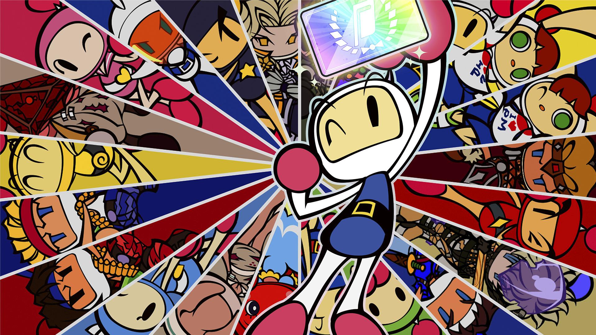 Super Bomberman R Online - Key Art