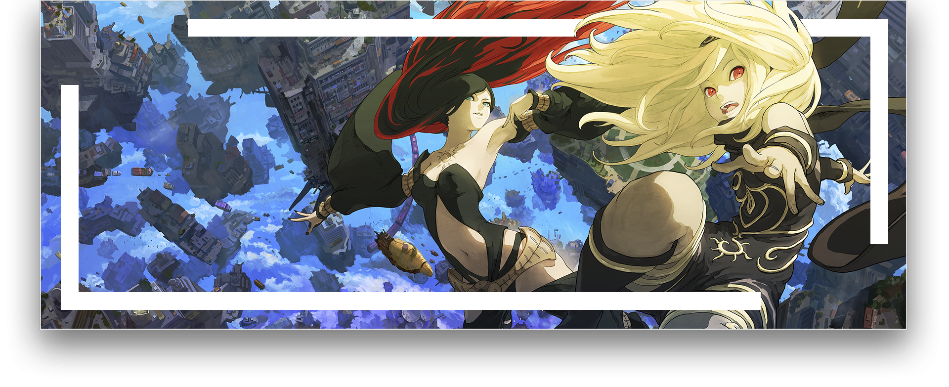 Gravity Rush 2 key art