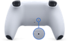 Przycisk resetowania kontrolera DualSense