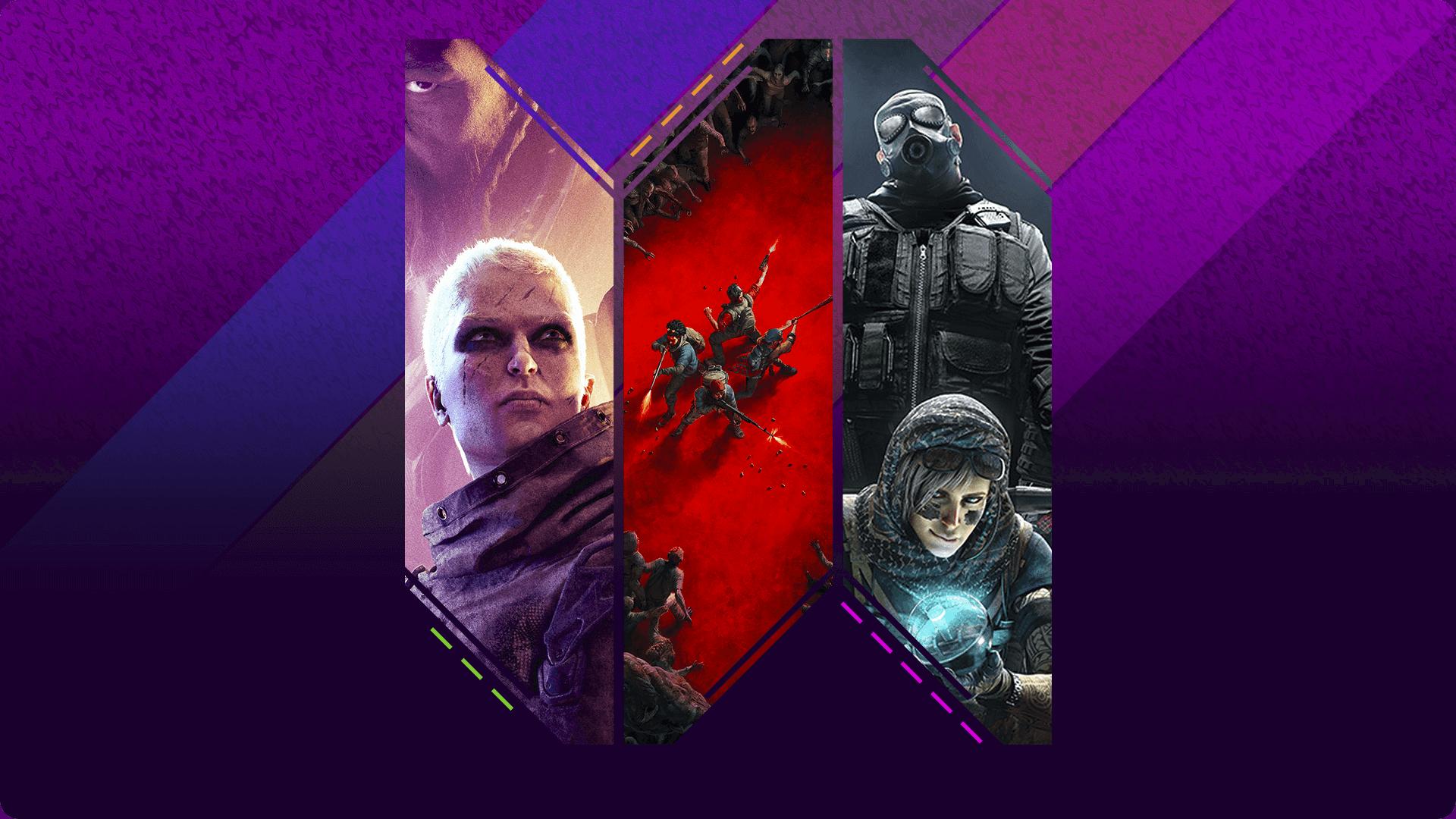 团队射击游戏买家指南宣传海报