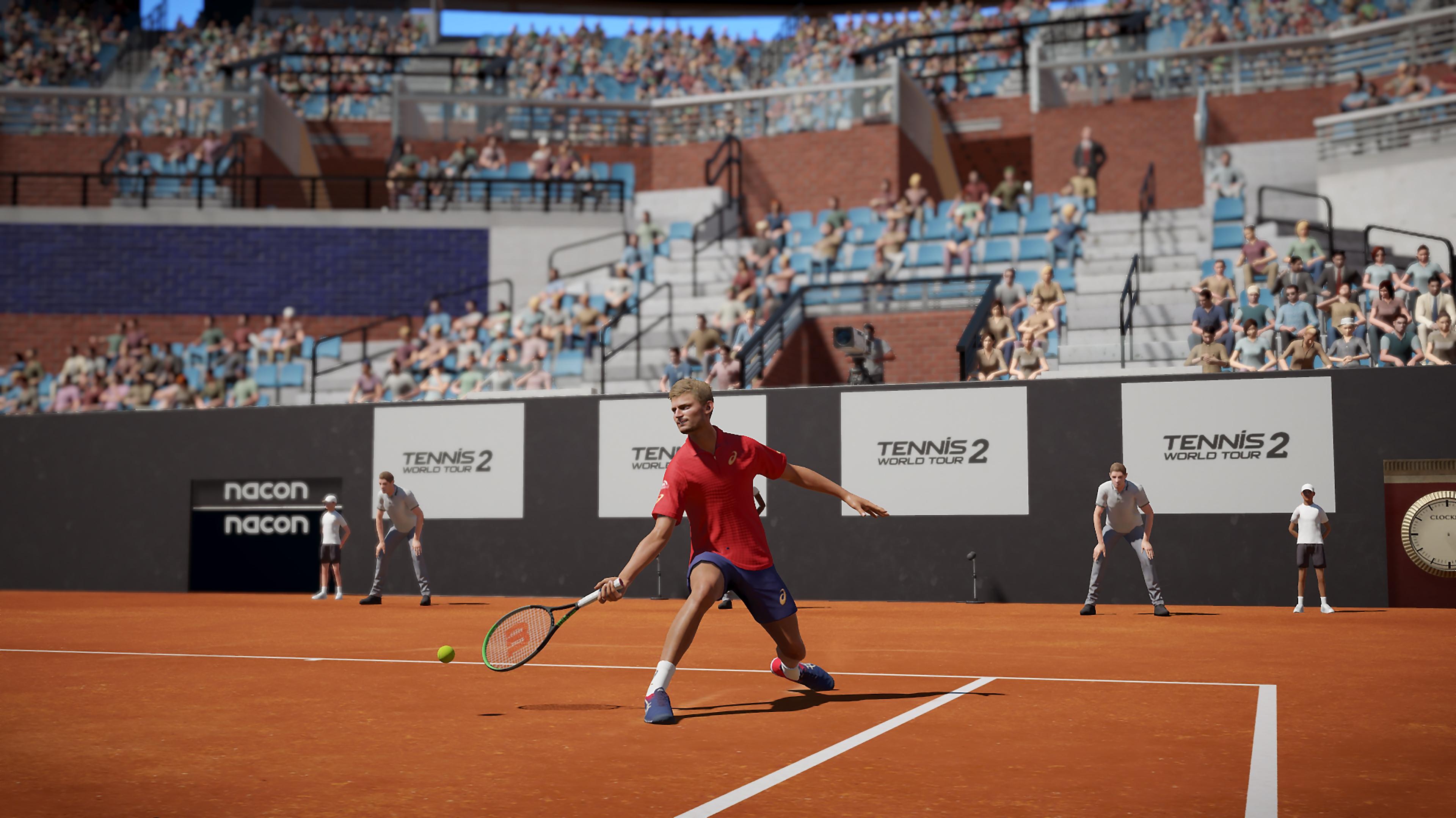 Istantanea della schermata Tennis World Tour 2