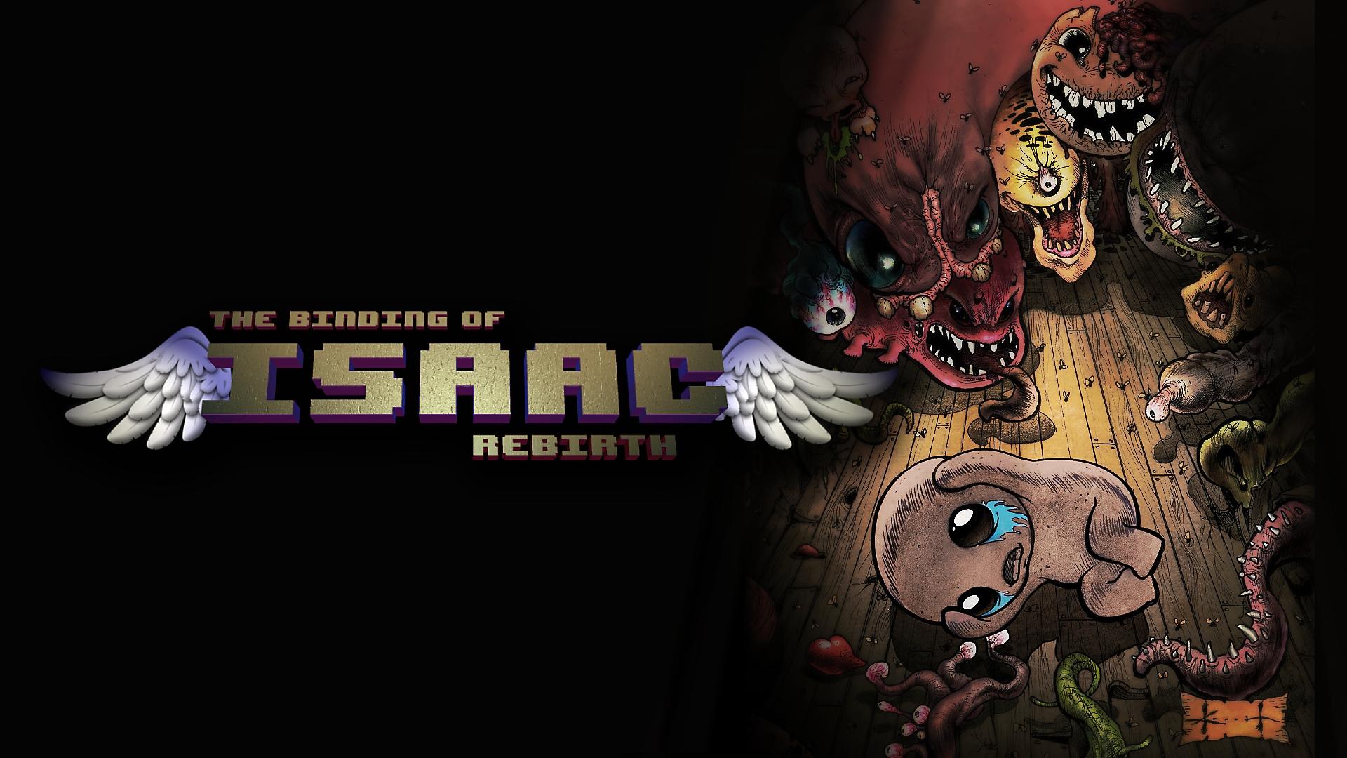 Binding of Isaac: Rebirth key-art