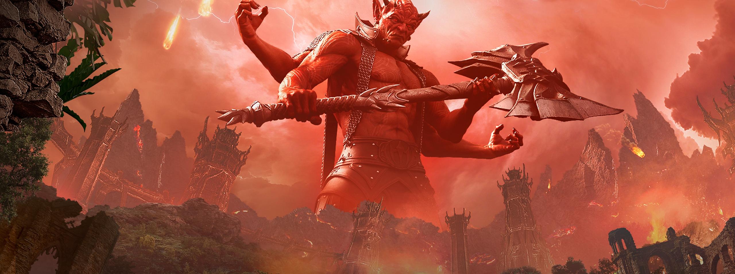 The Elder Scrolls Online: Blackwood - Key Art