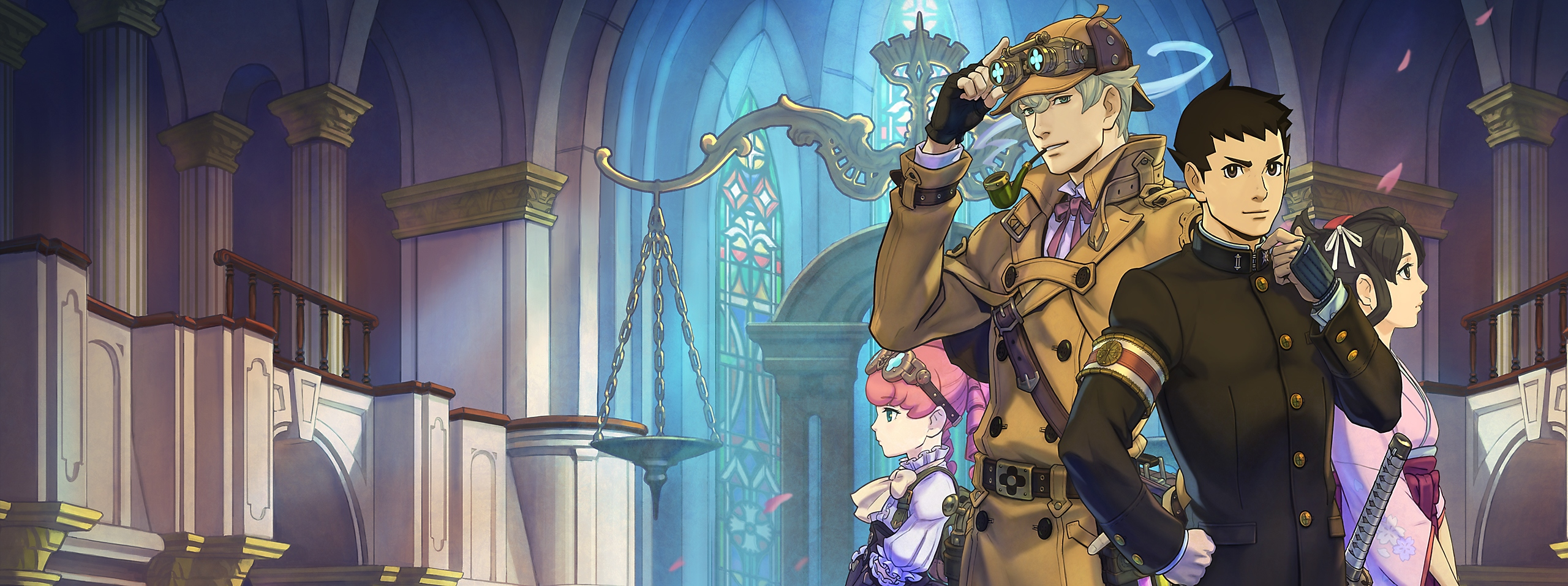 The Great Ace Attorney Chronicles - Key Art