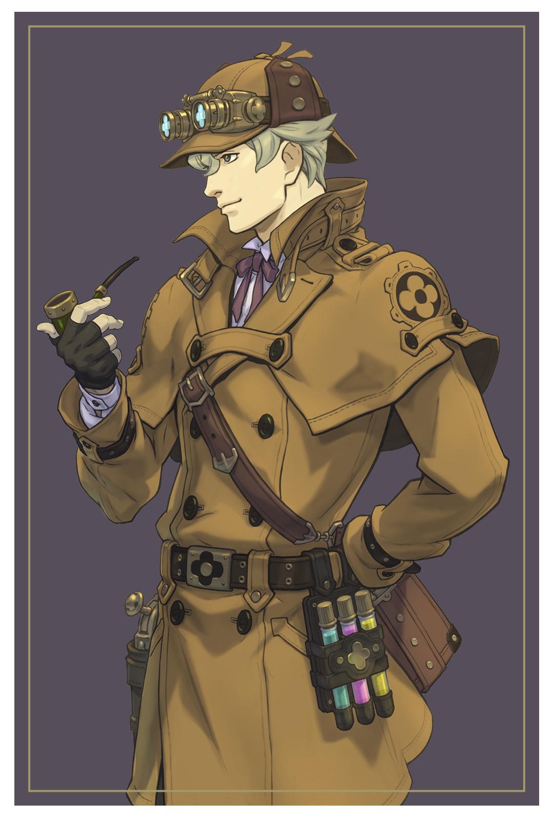 Herlock Sholmes - Character Art