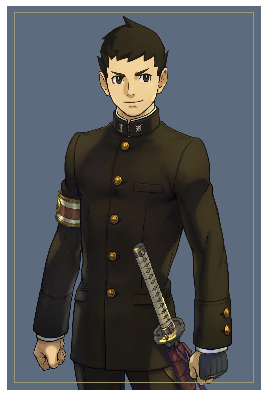 Ryunosuke Naruhodo - Character Art