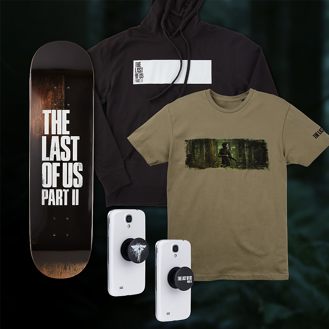 The last of us part ii outbreak day products