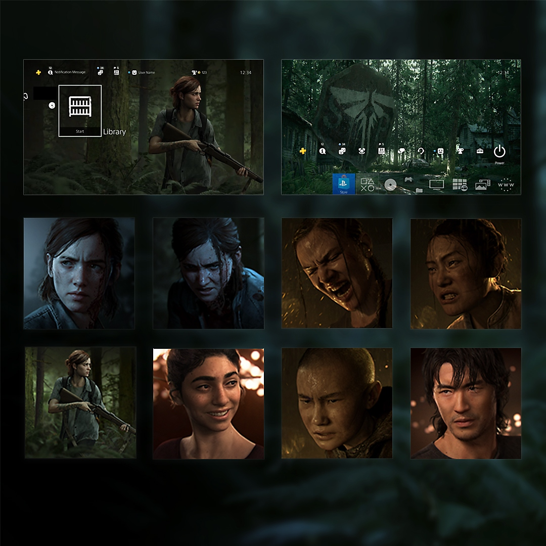 The last of us part ii outbreak day themes and avatars