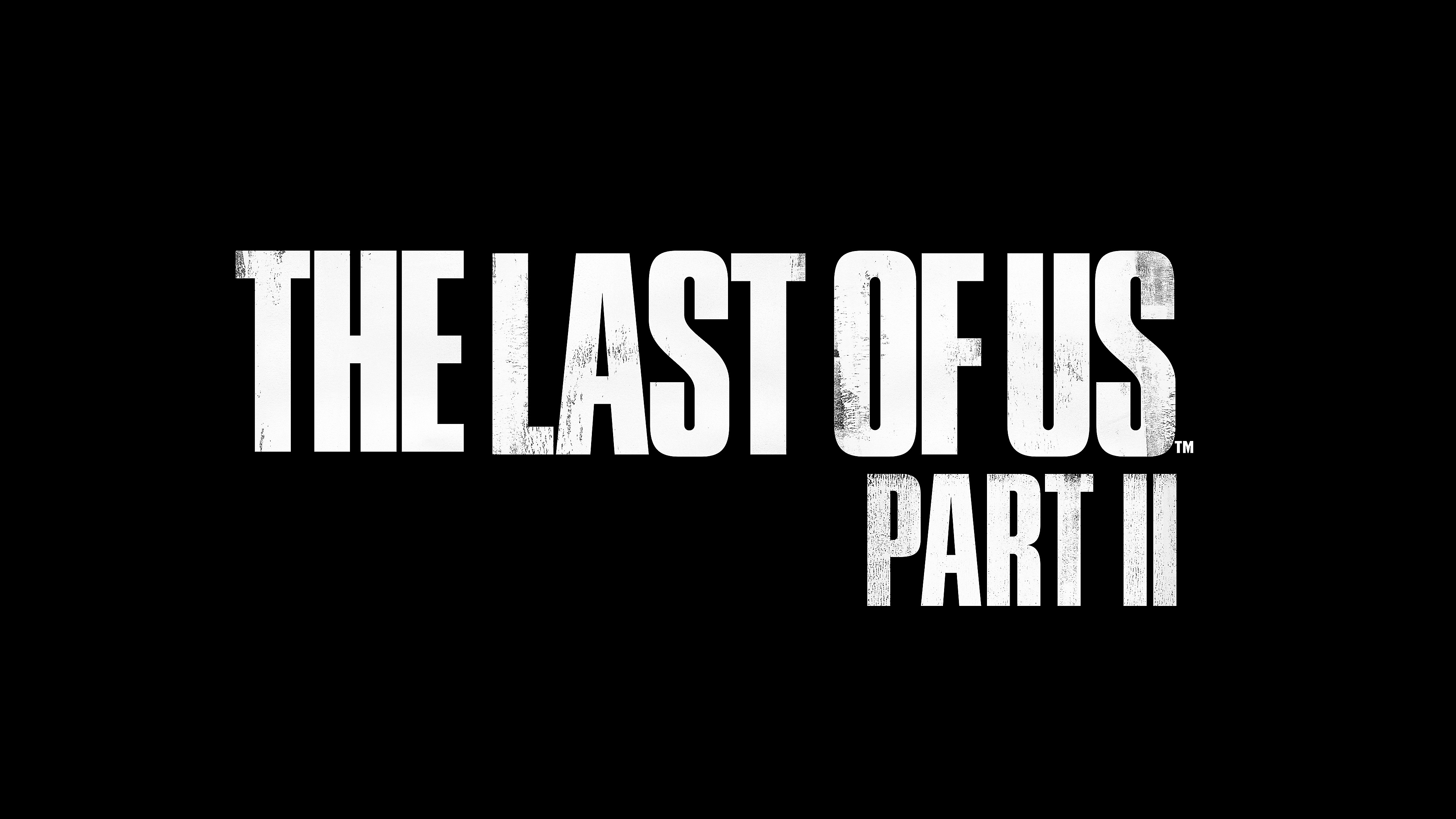 The Last of Us Part II Logo - Desktop