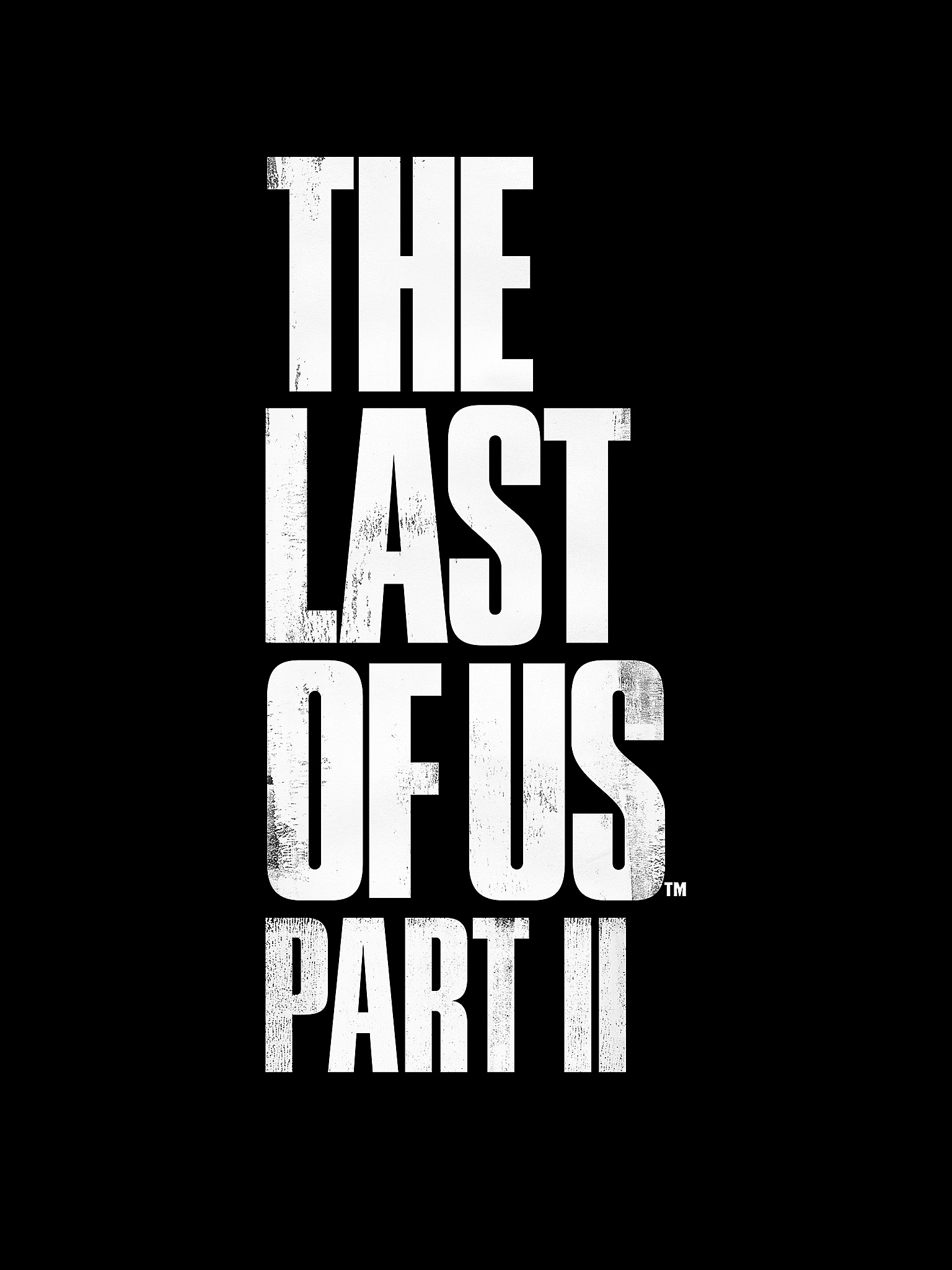The Last of Us Part II Logo - iPad Air