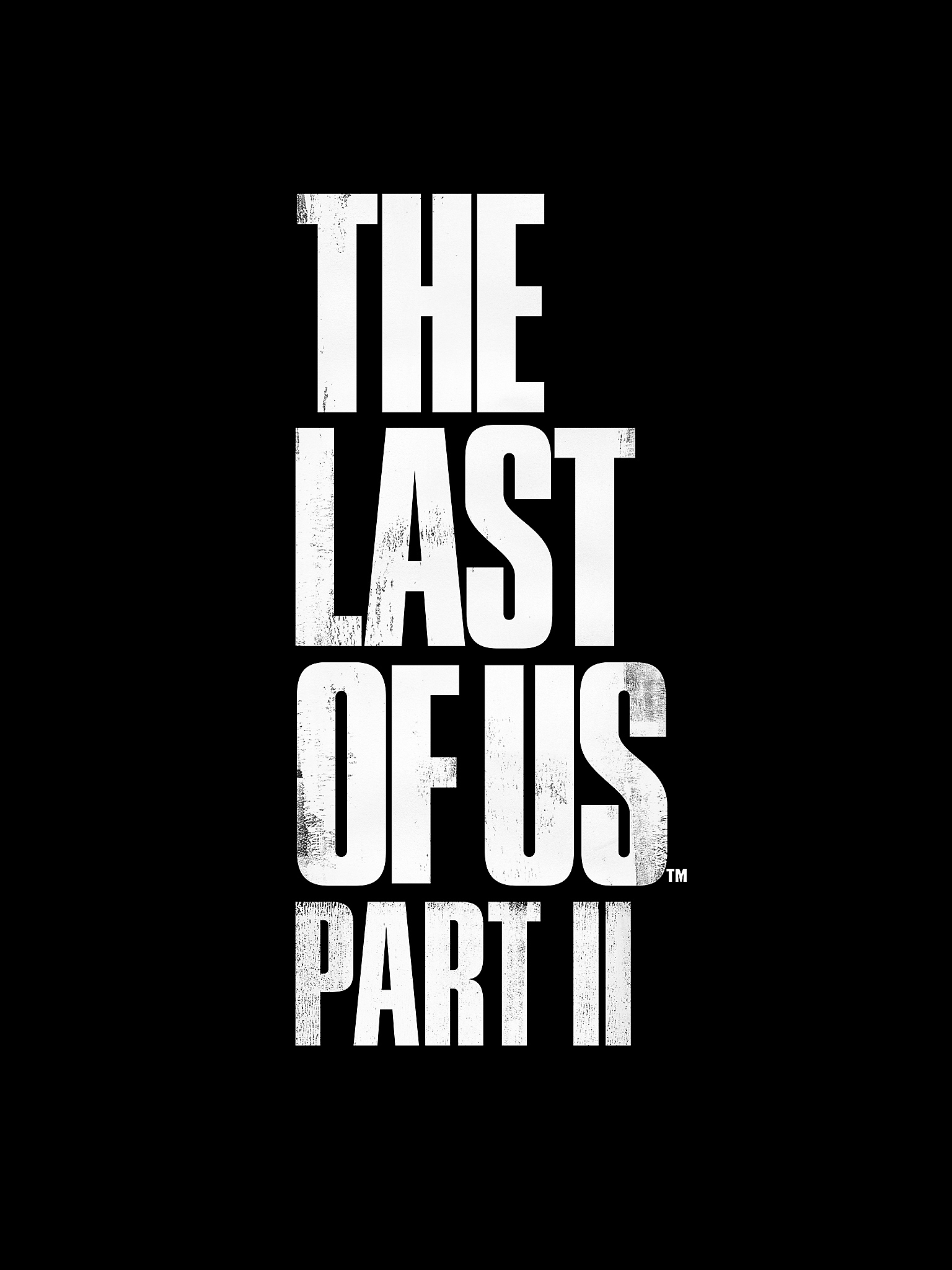 Logotipo de The Last of Us Part II - iPad Mini