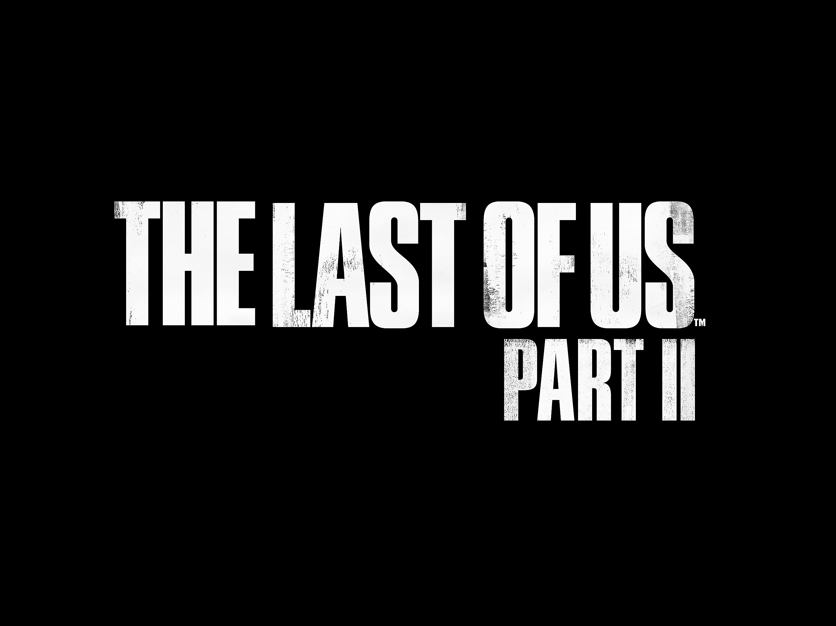 The Last of Us Part II Logo - iPad Pro