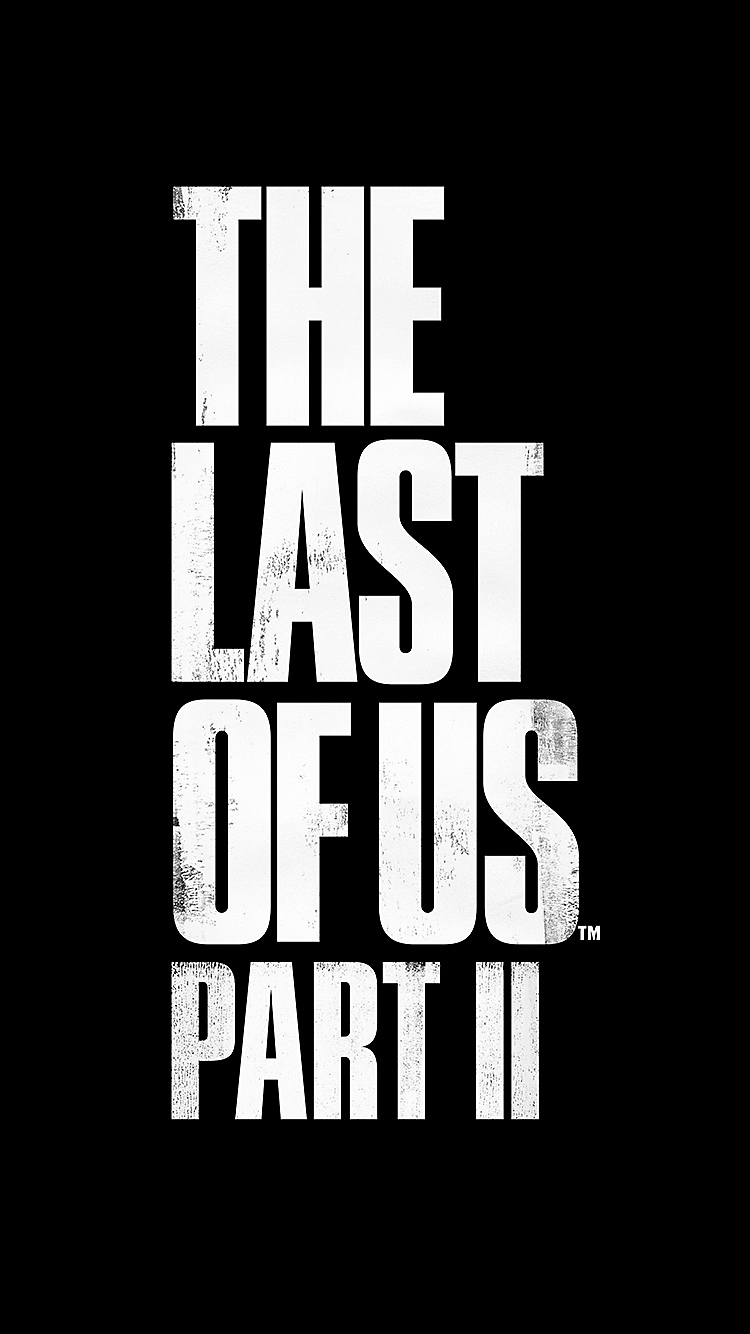 The Last of Us Part II Logo - iPhone 8