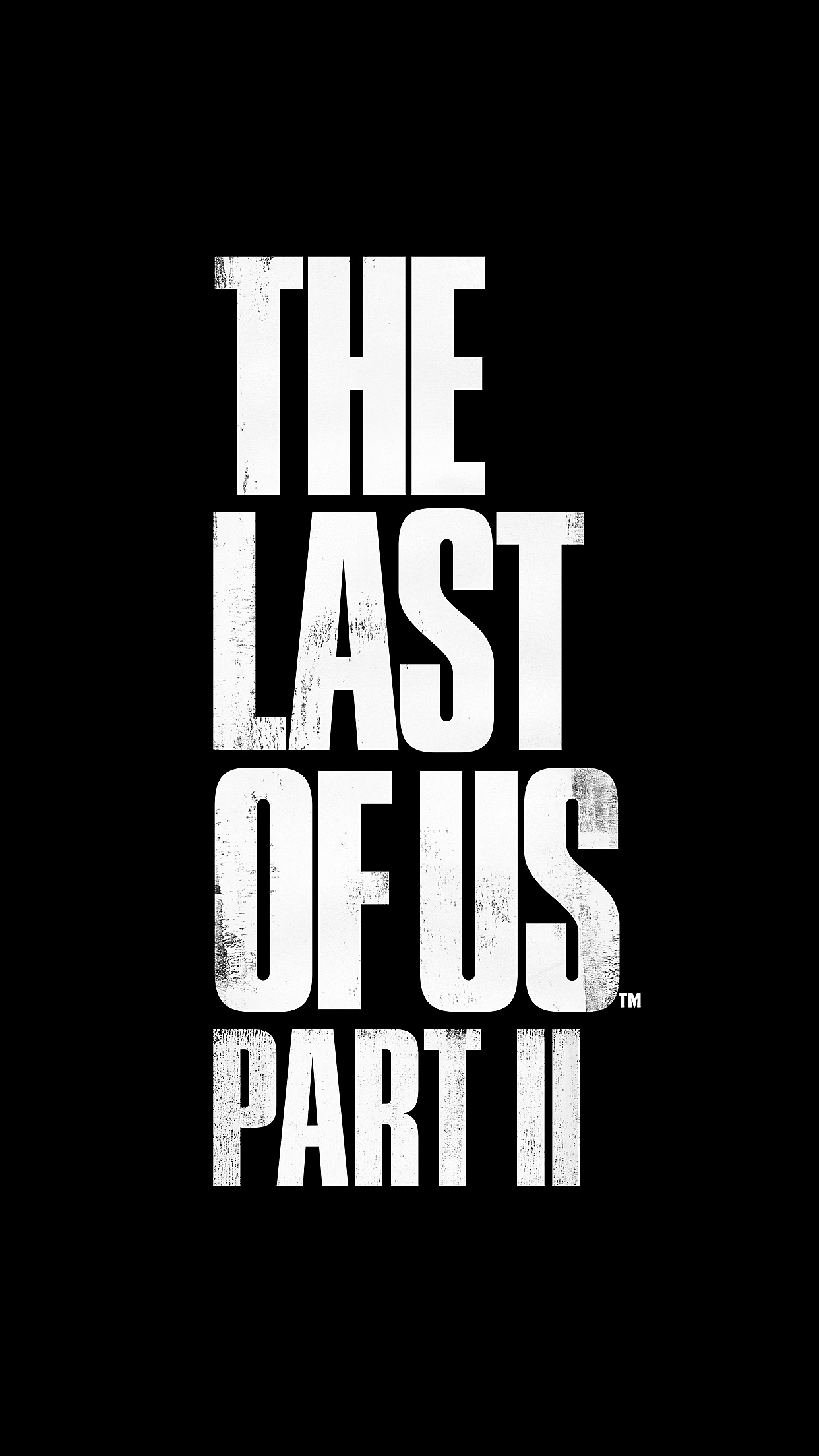 The Last of Us Part II Logo - iPhone 8 Plus