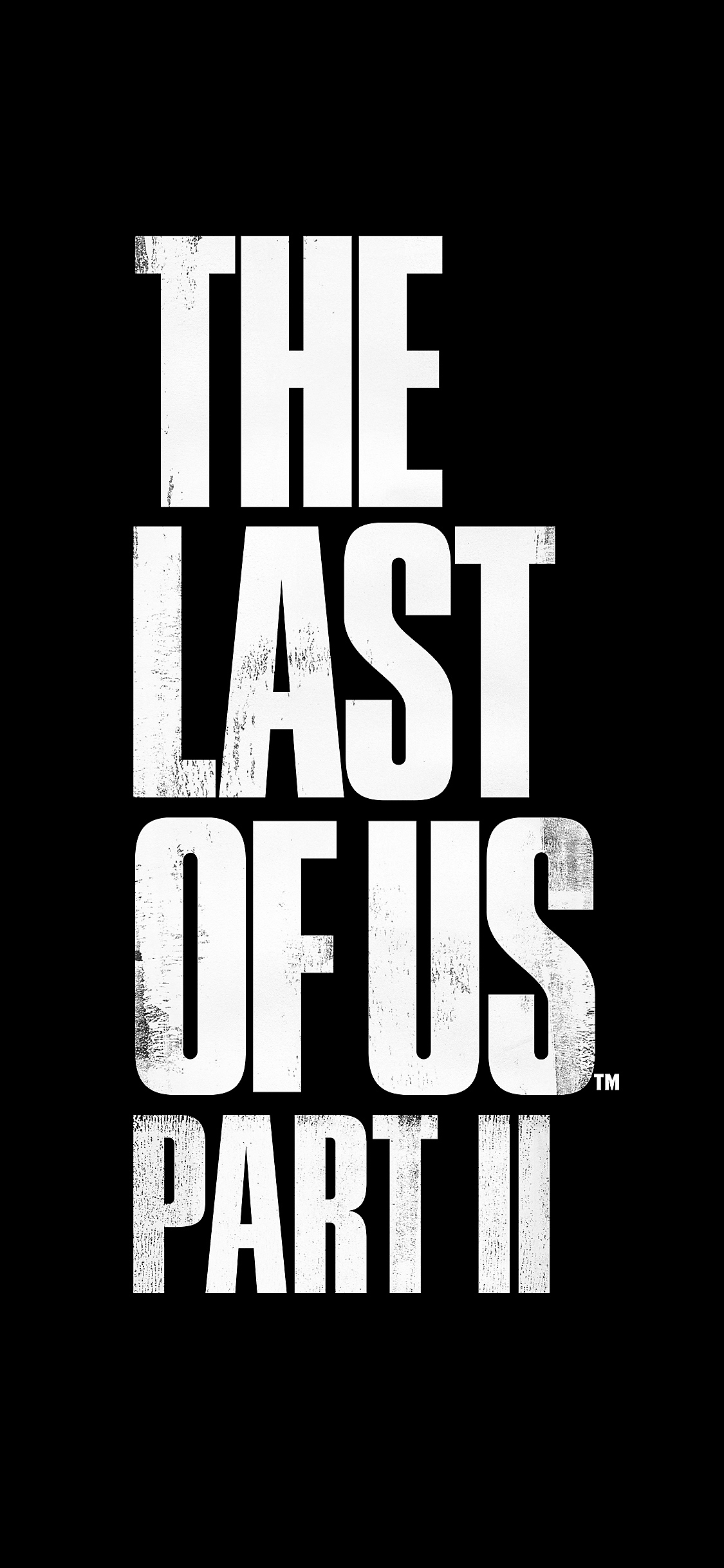 Logotipo de The Last of Us Part II - iPhone X