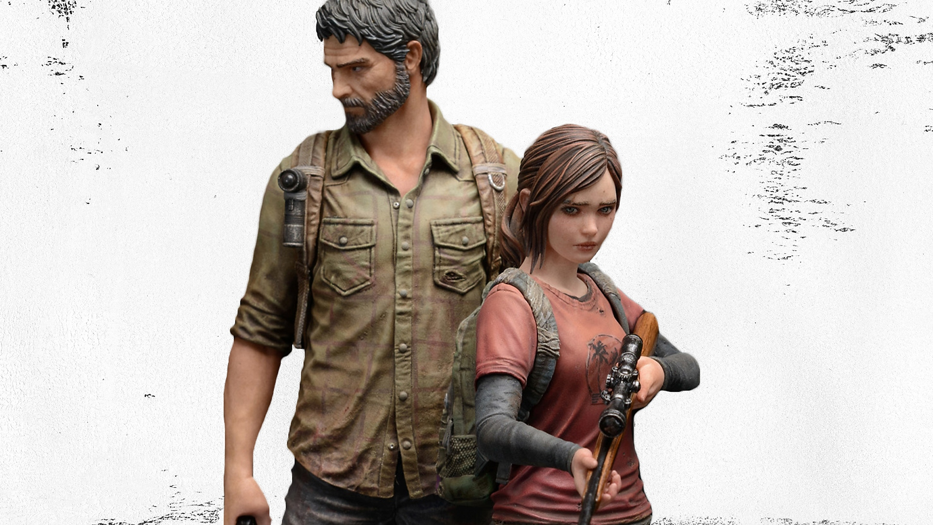 THE LAST OF US ELLIE AND JOEL STATUES FROM MAMEGYORAI