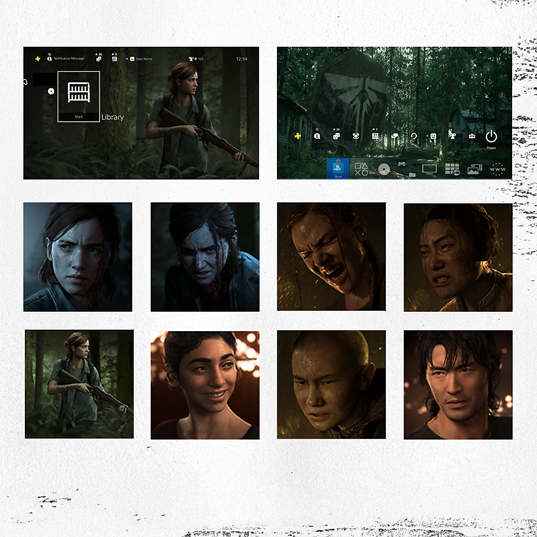 THE LAST OF US PART II THEMES AND AVATARS FREE FOR A LIMITED TIME