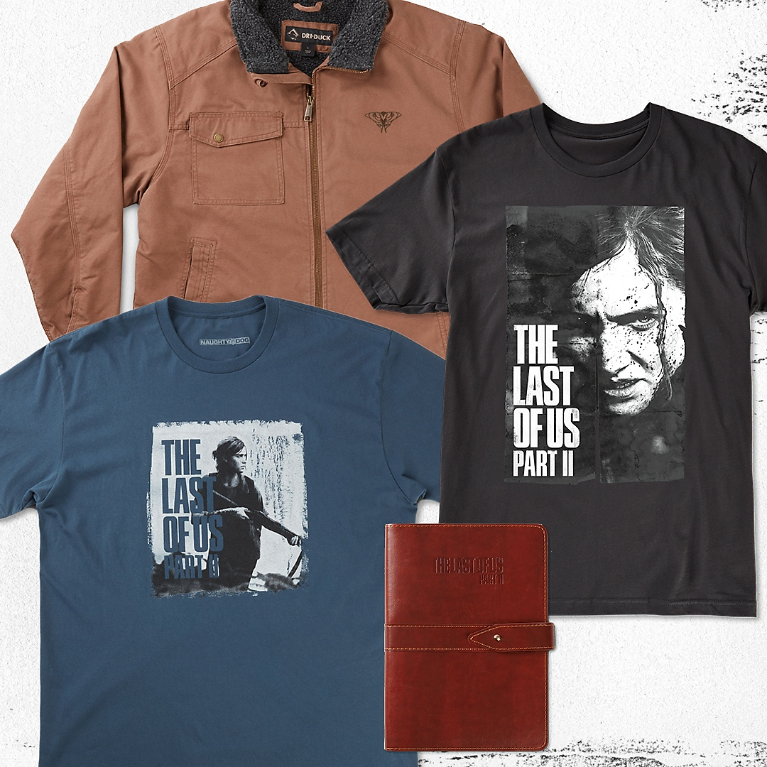 SAVE UP TO 40% ON THE LAST OF US PRODUCTS ON PLAYSTATION GEAR STORE