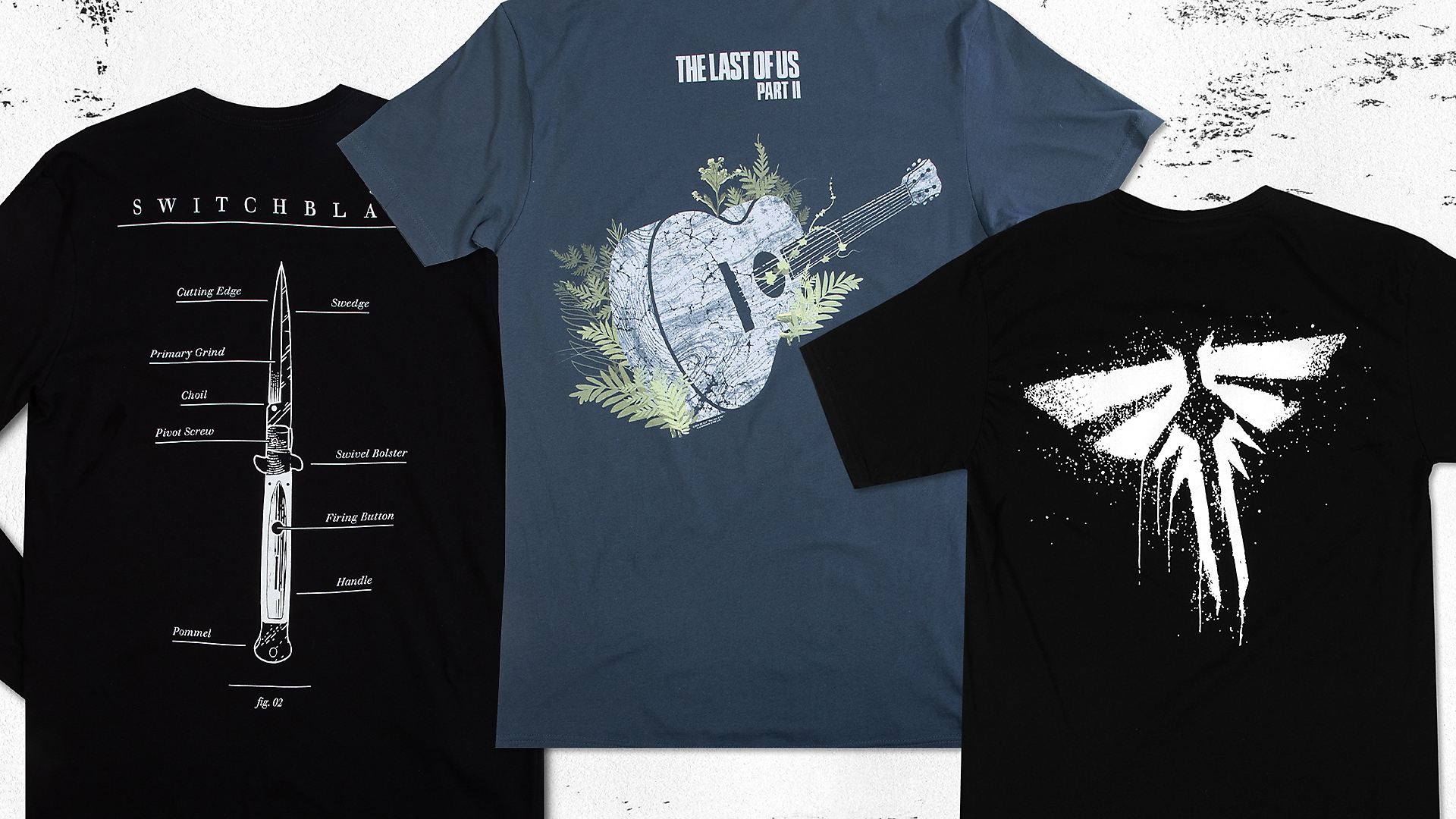 THE LAST OF US APPAREL FROM GRAPH